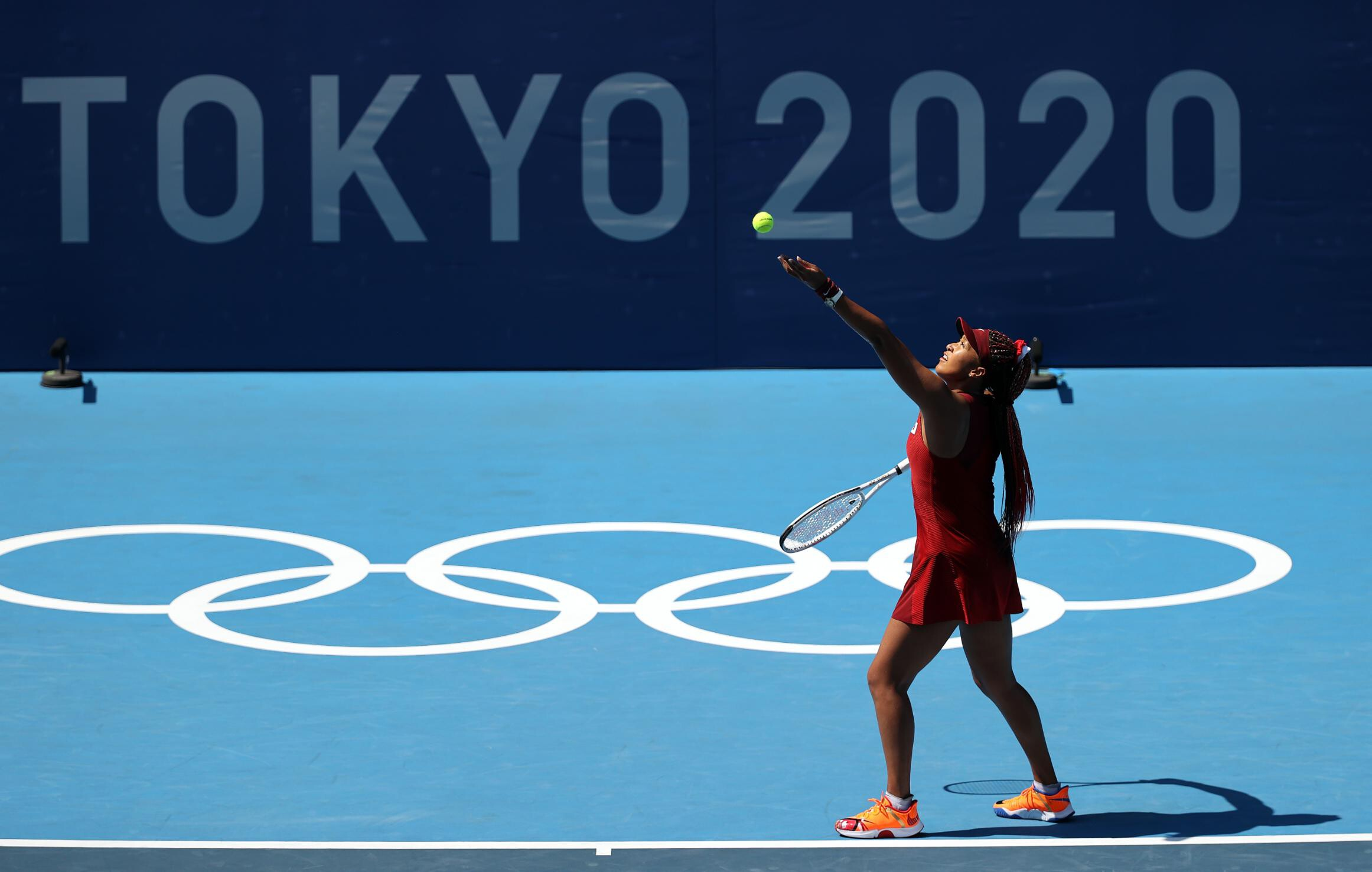 Naomi Osaka 'refreshed and happy' as she kicks off her Olympic campaign with dominant victory against Saisai Zheng