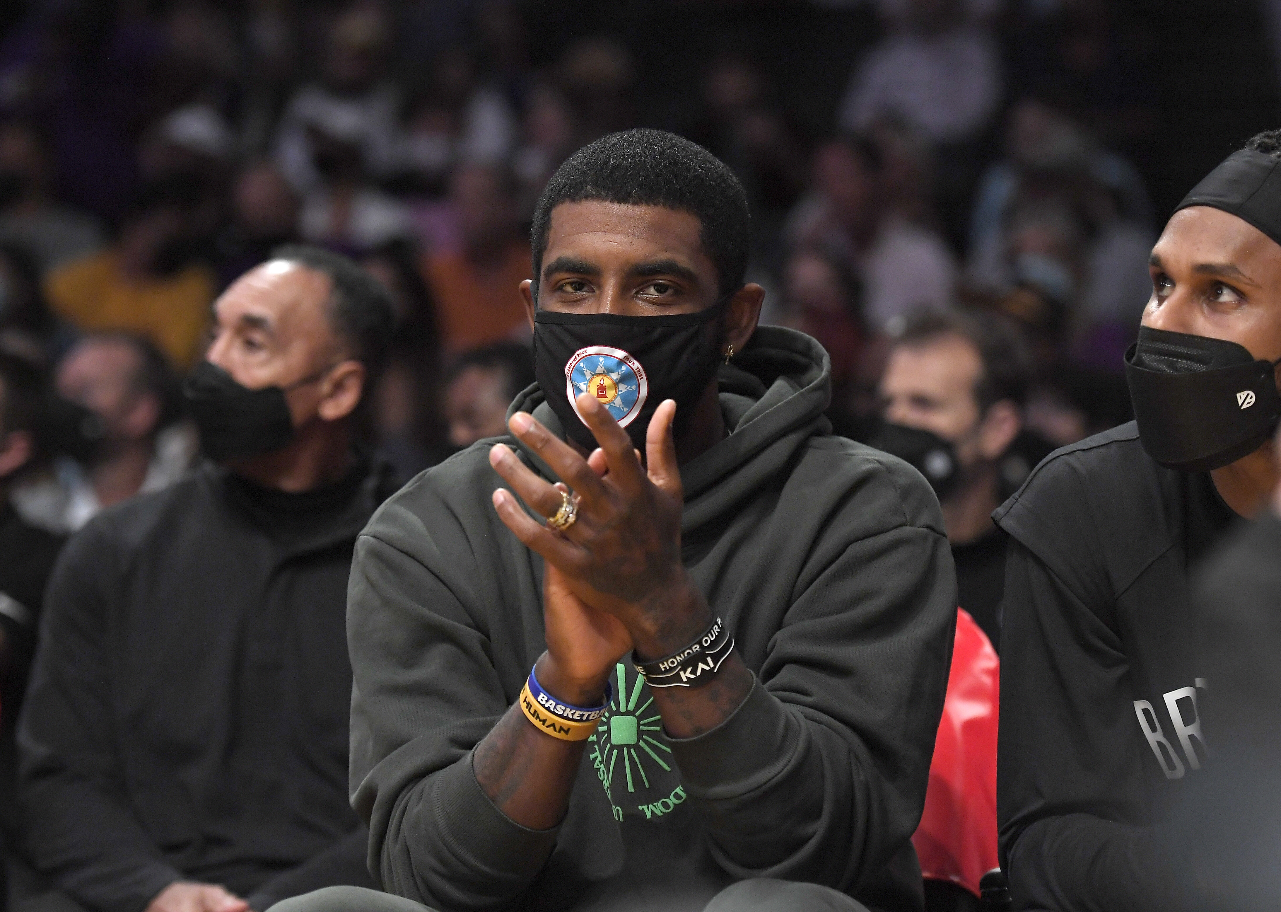 NBA commissioner Adam Silver hopes Kyrie Irving decides to get vaccinated against Covid-19