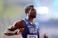 An asthma sufferer, sprinter Noah Lyles is taking extra precautions amid pandemic