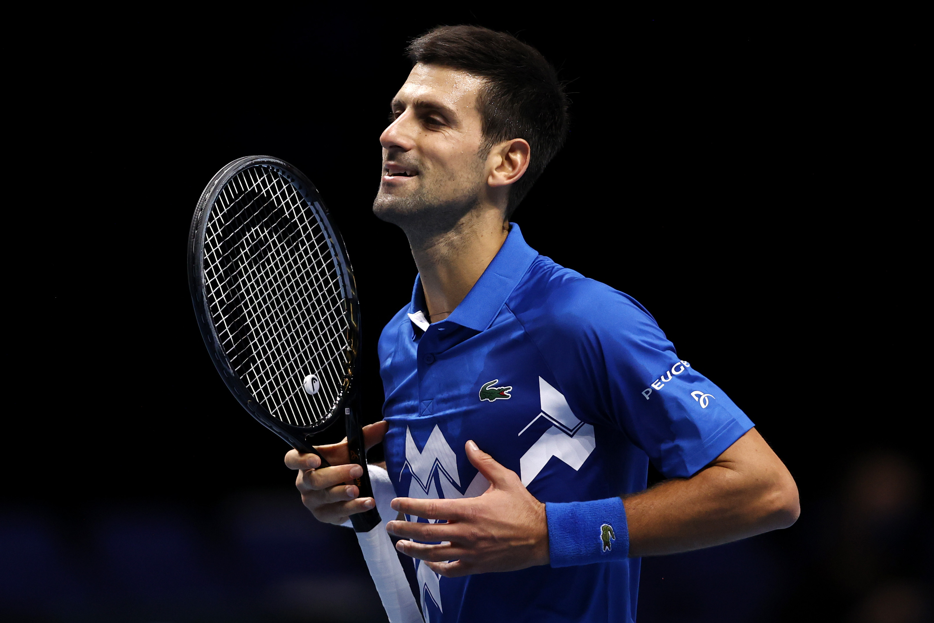 Novak Djokovic reaches semis of ATP Finals after victory against Alexander Zverev