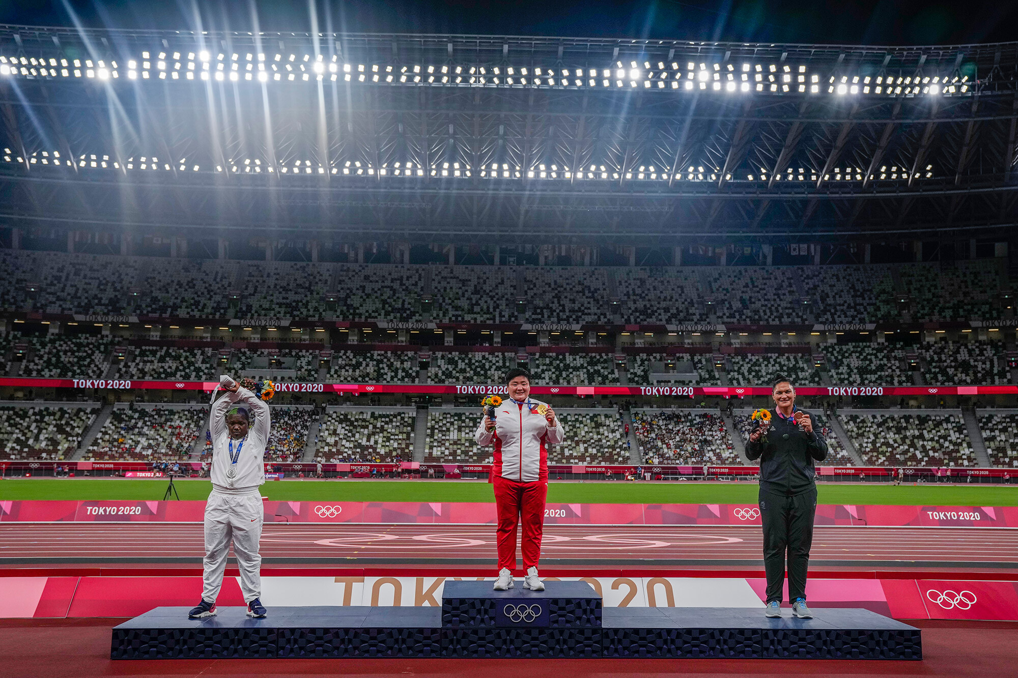 Raven Saunders' X podium protest: What it means and why the IOC is investigating
