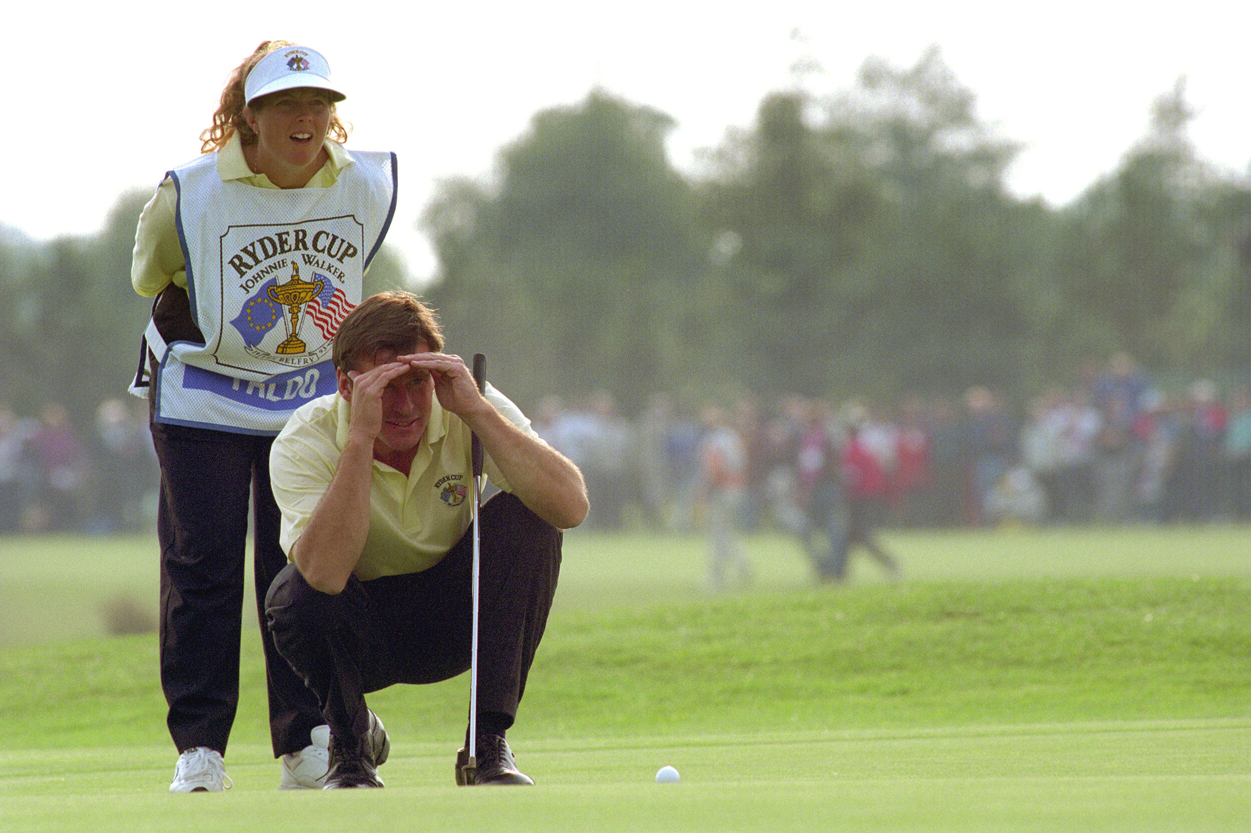 Ryder Cup gets personal: Hey! 'Golf' fans, leave those guys alone, say wives and girlfriends