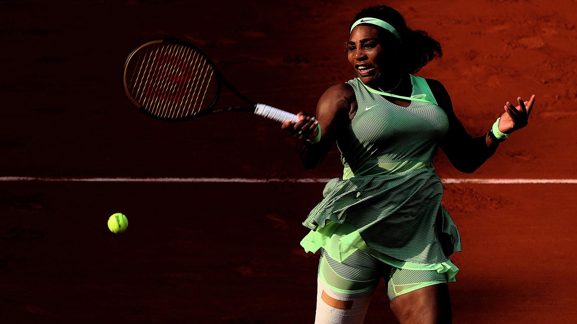 Serena Williams stunned by Elena Rybakina at French Open