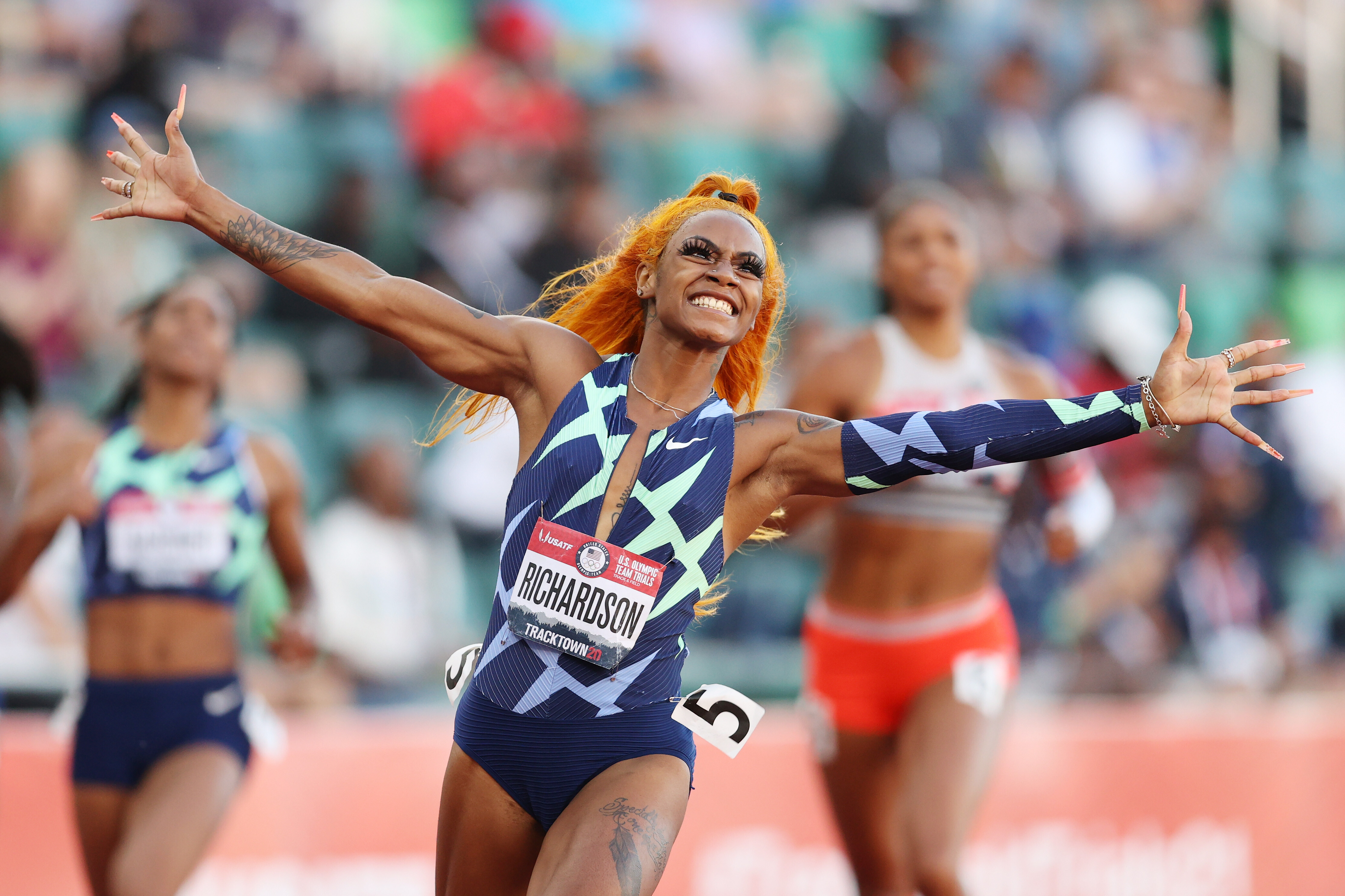 Though her suspension ends before relay event, Sha'Carri Richardson left off US Olympic track team