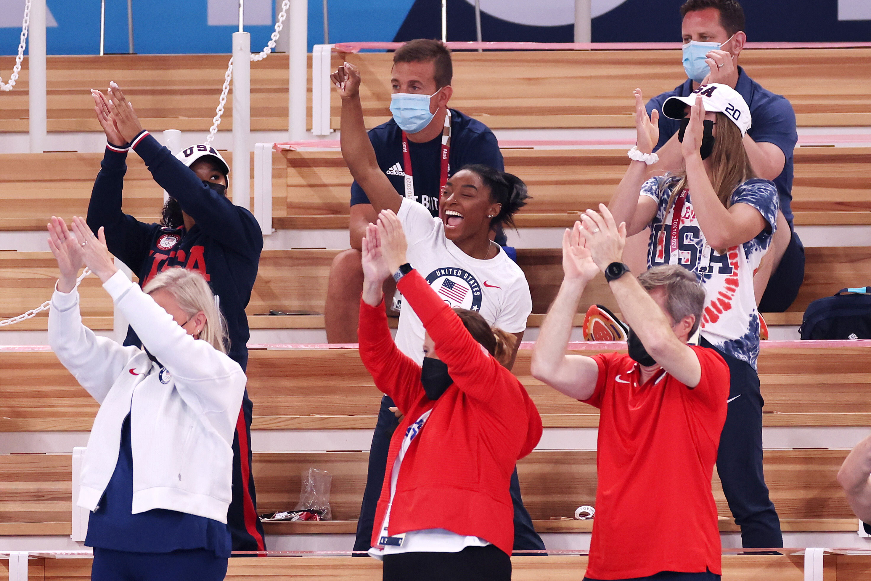 Simone Biles: US gymnast to take part in Tuesday's balance beam final at Tokyo 2020