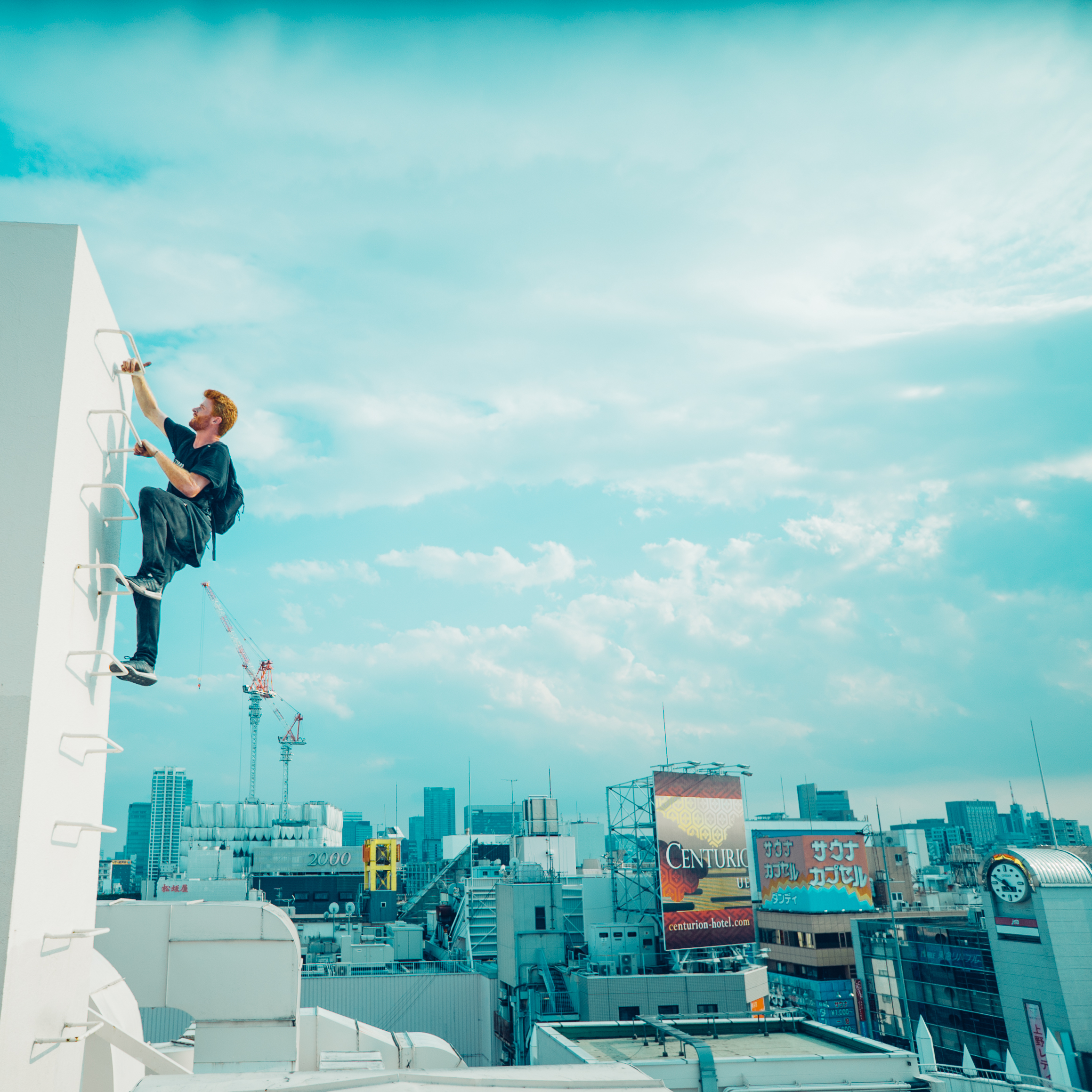 The extreme parkour team whose death-defying jumps caught the attention of Hollywood