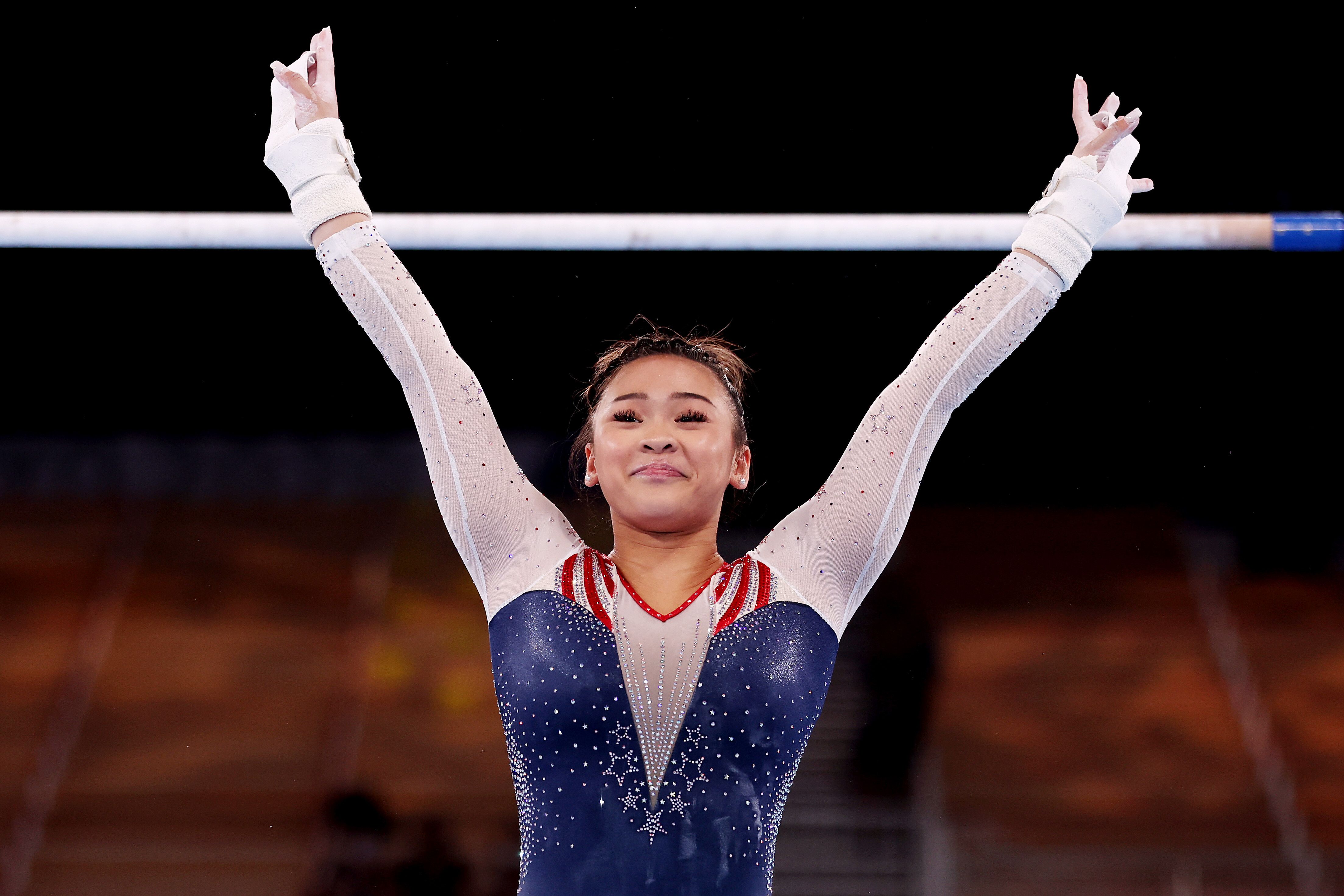 'I didn't think I would ever be here,' says Sunisa Lee after winning 'surreal' all-around gymnastics gold at the Tokyo Olympics