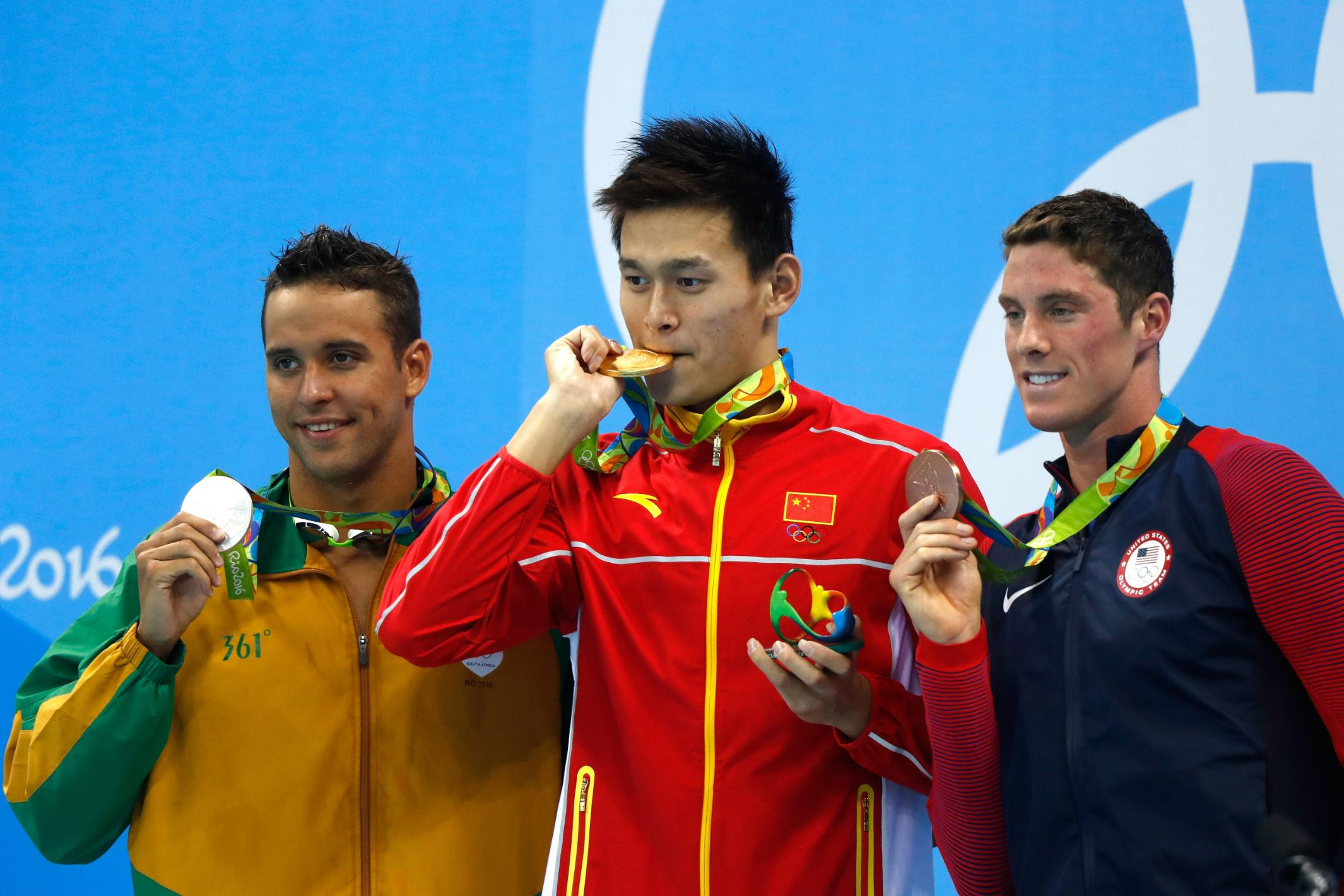 Triple Olympic champion Sun Yang handed eight-year ban