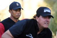 Phil Mickelson 'working on' rematch of $9M clash with Tiger Woods