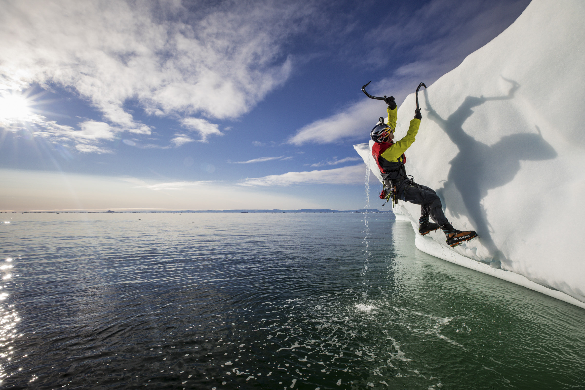 'Big pieces' of Kilimanjaro 'missing' due to climate crisis, says ice climber Will Gadd