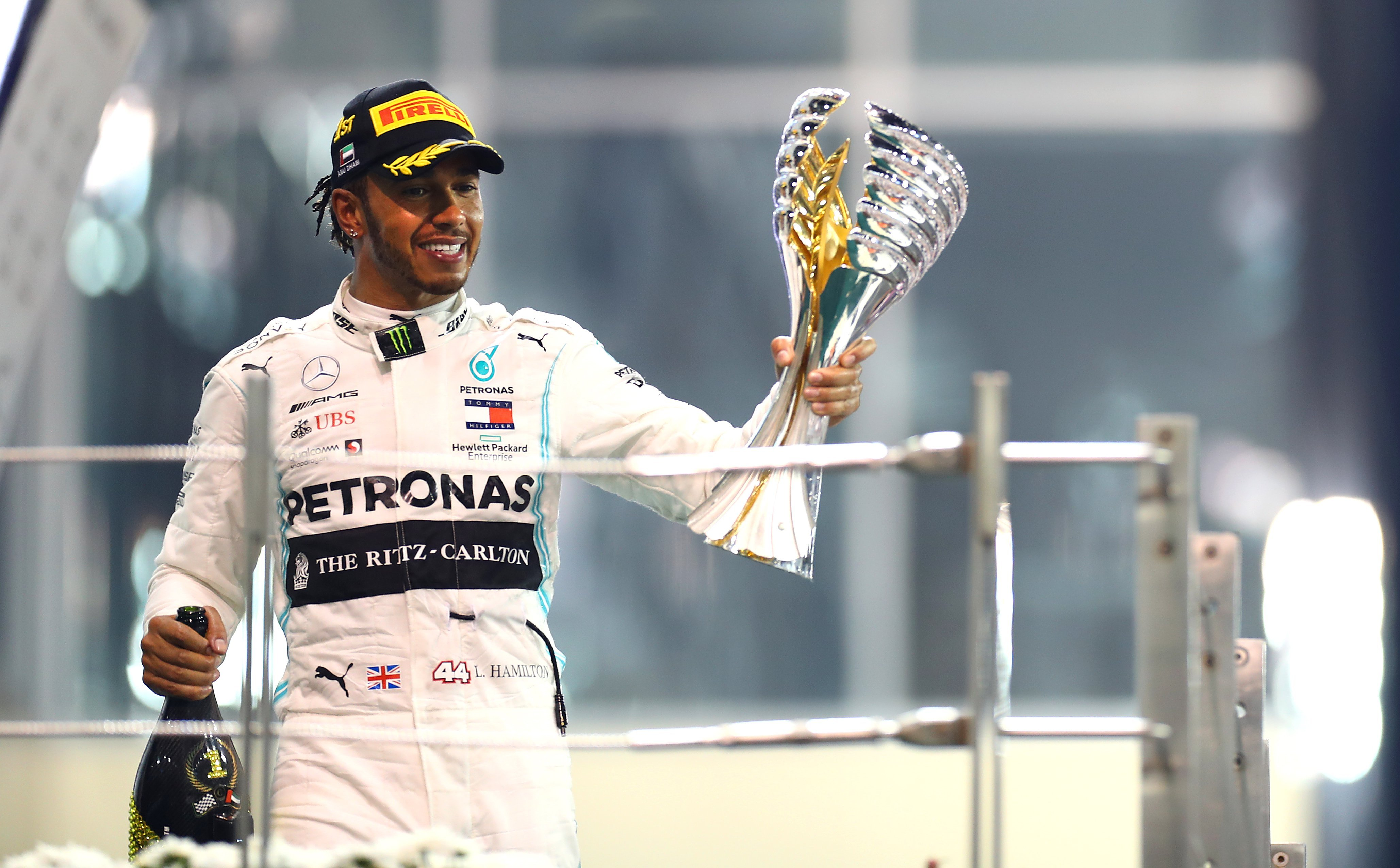 Lewis Hamilton wins Abu Dhabi GP as Formula 1 season comes to an end