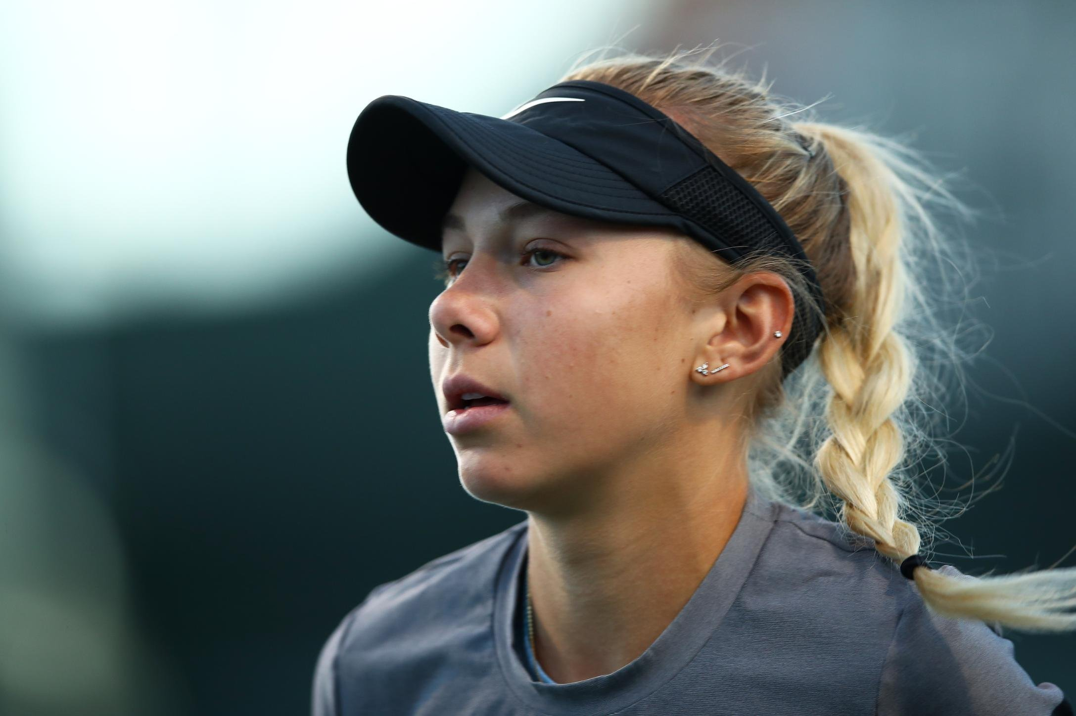 Amanda Anisimova, 17, withdraws from US Open after her father's death