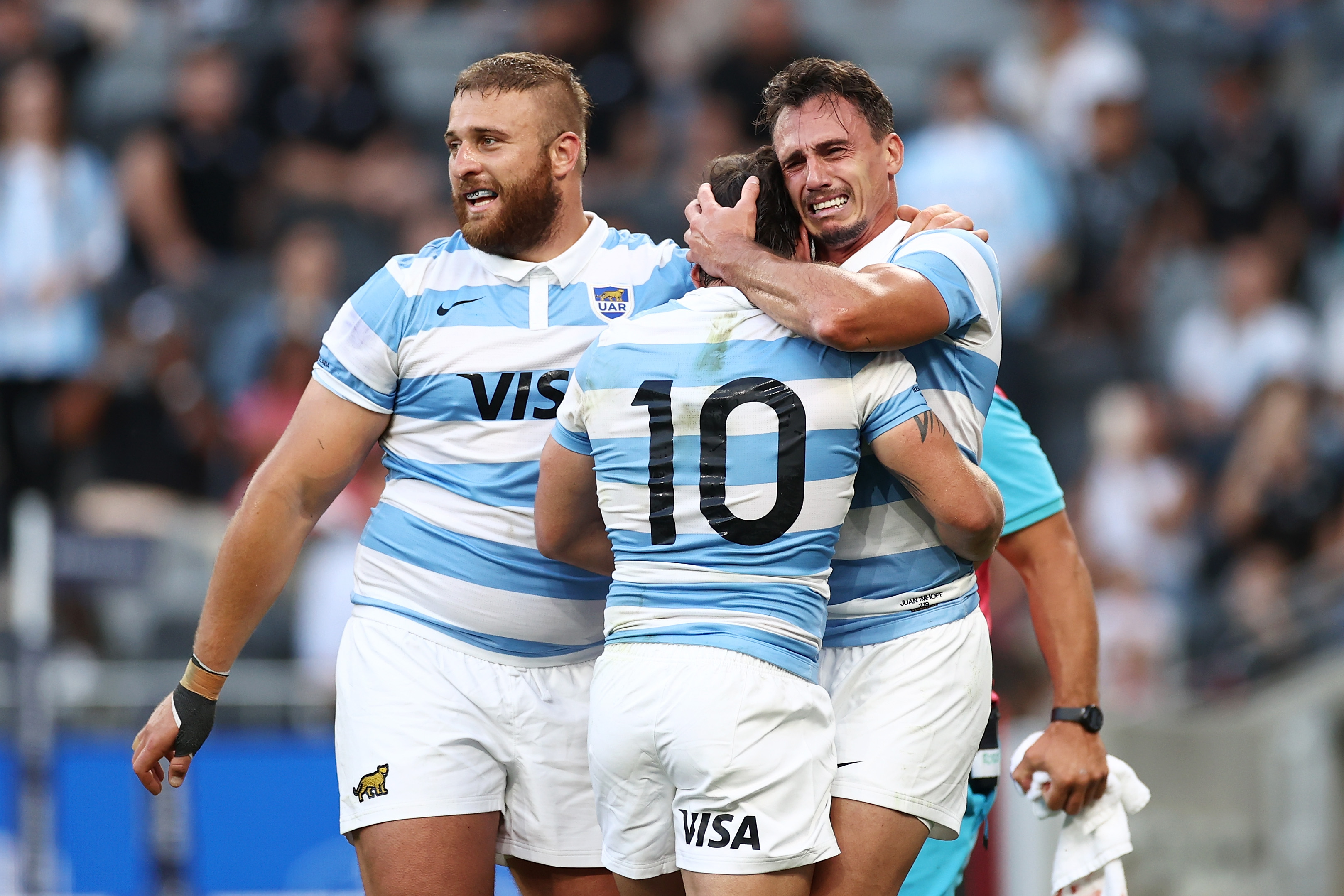 Victory over the All Blacks was an 'emotional' moment for Argentina, says Hugo Porta
