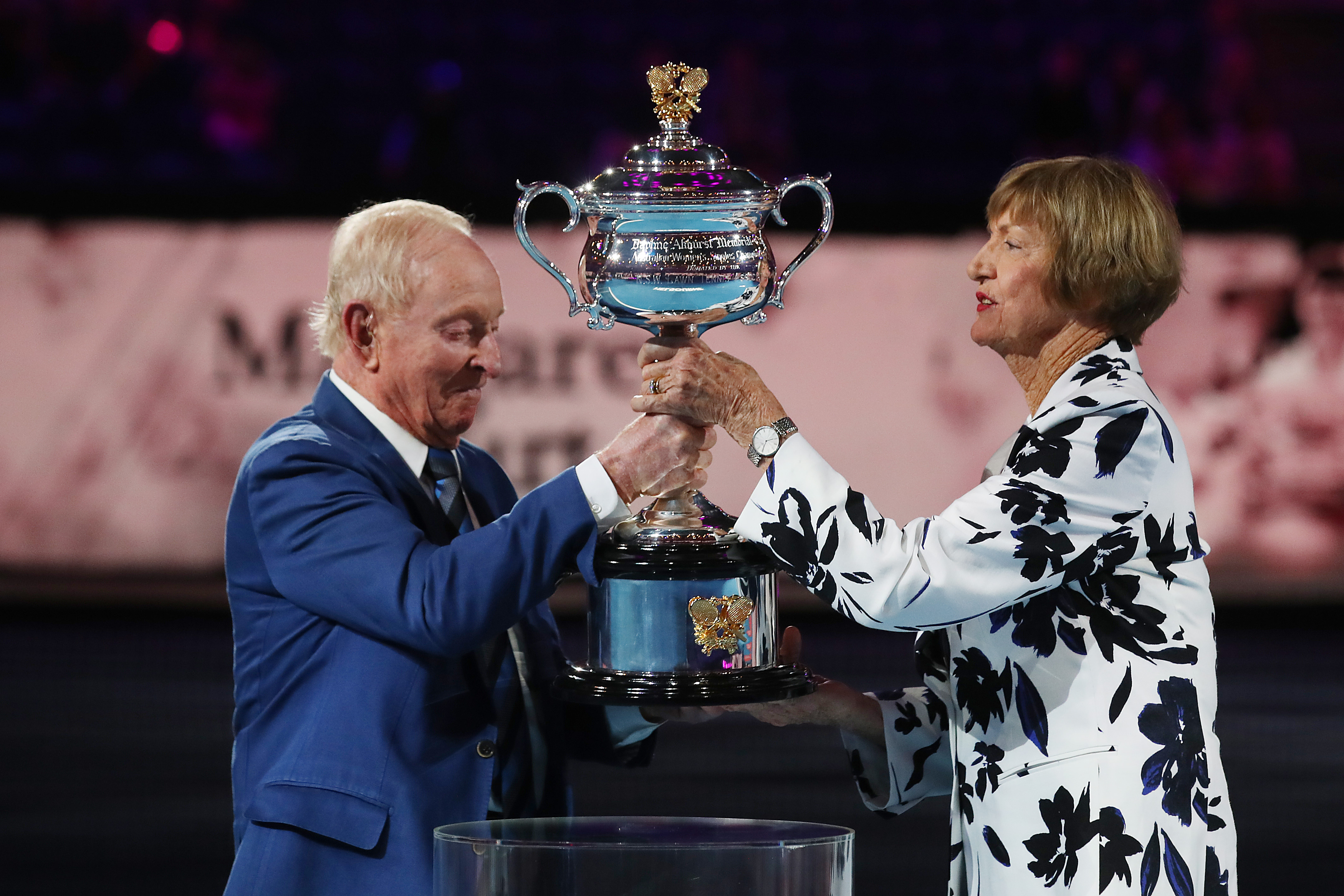 John McEnroe mocks 'crazy aunt' Margaret Court on her 50th anniversary celebration