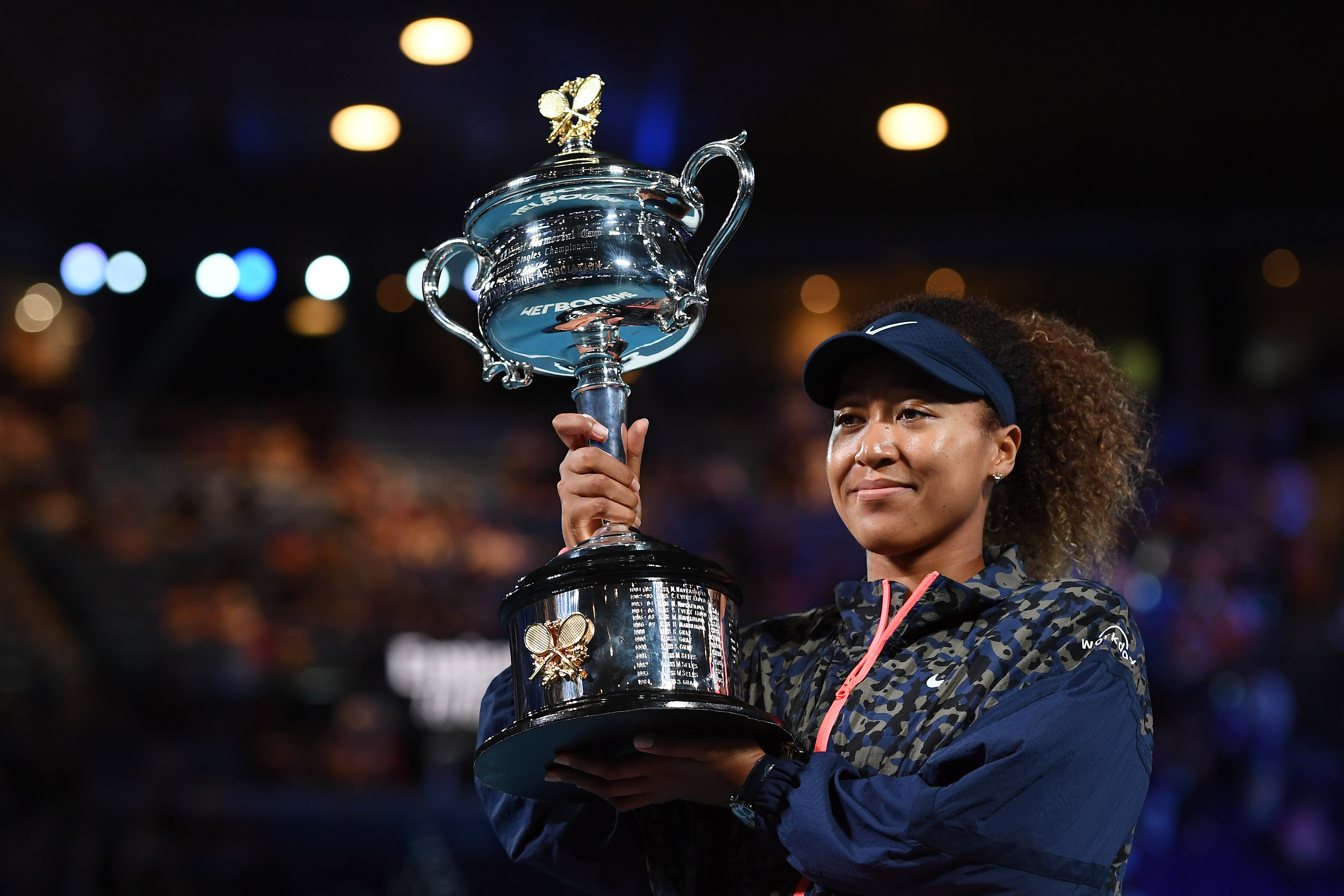 Naomi Osaka overcomes Jennifer Brady to win second Australian Open title