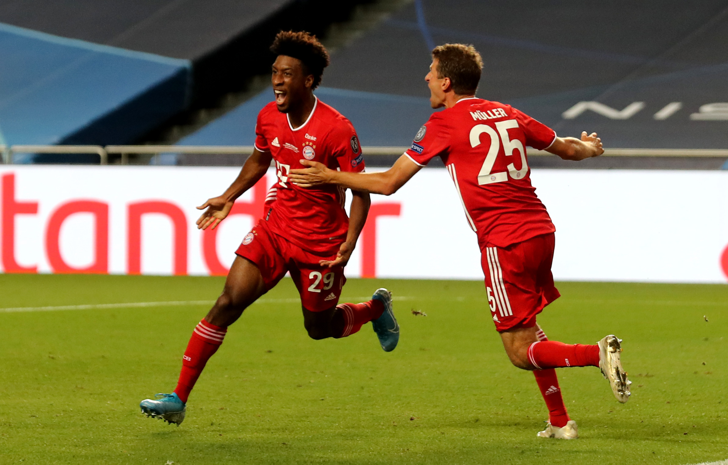 Bayern Munich beats Paris Saint-Germain to win the Champions League