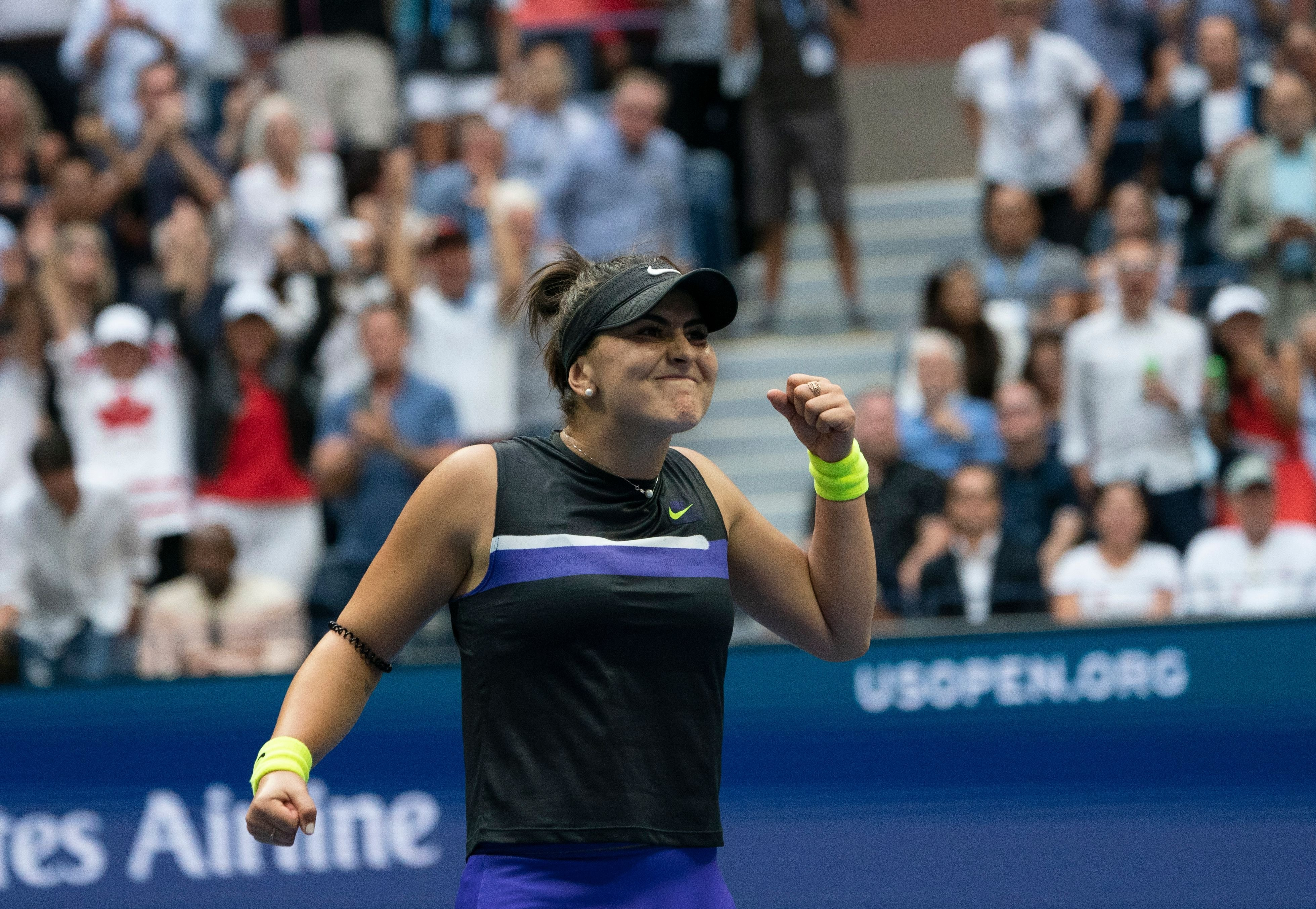 Bianca Andreescu: How a fake check inspired the US Open