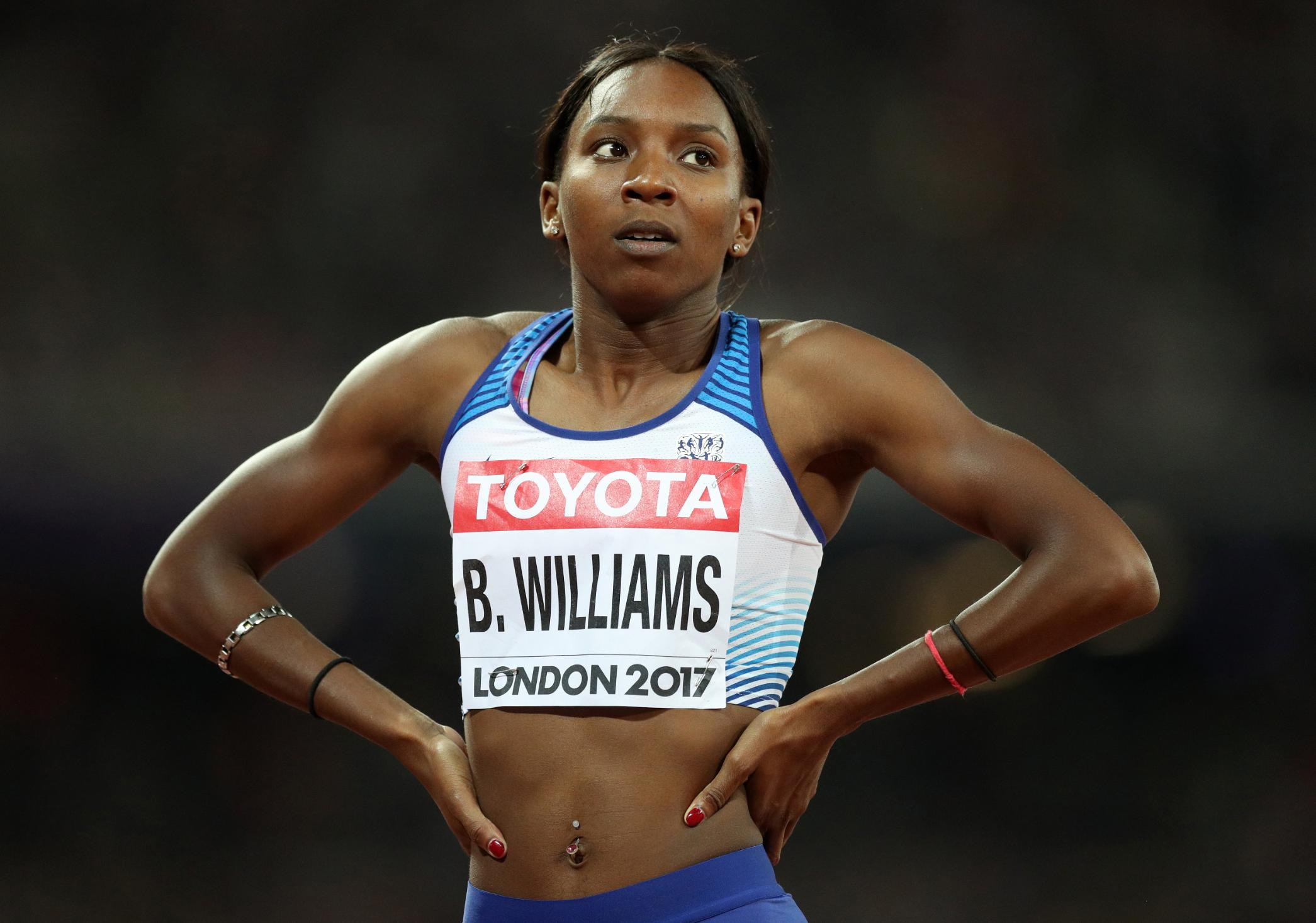 Team GB sprinter accuses police of 'racial profiling' after she and partner are stopped and searched in London
