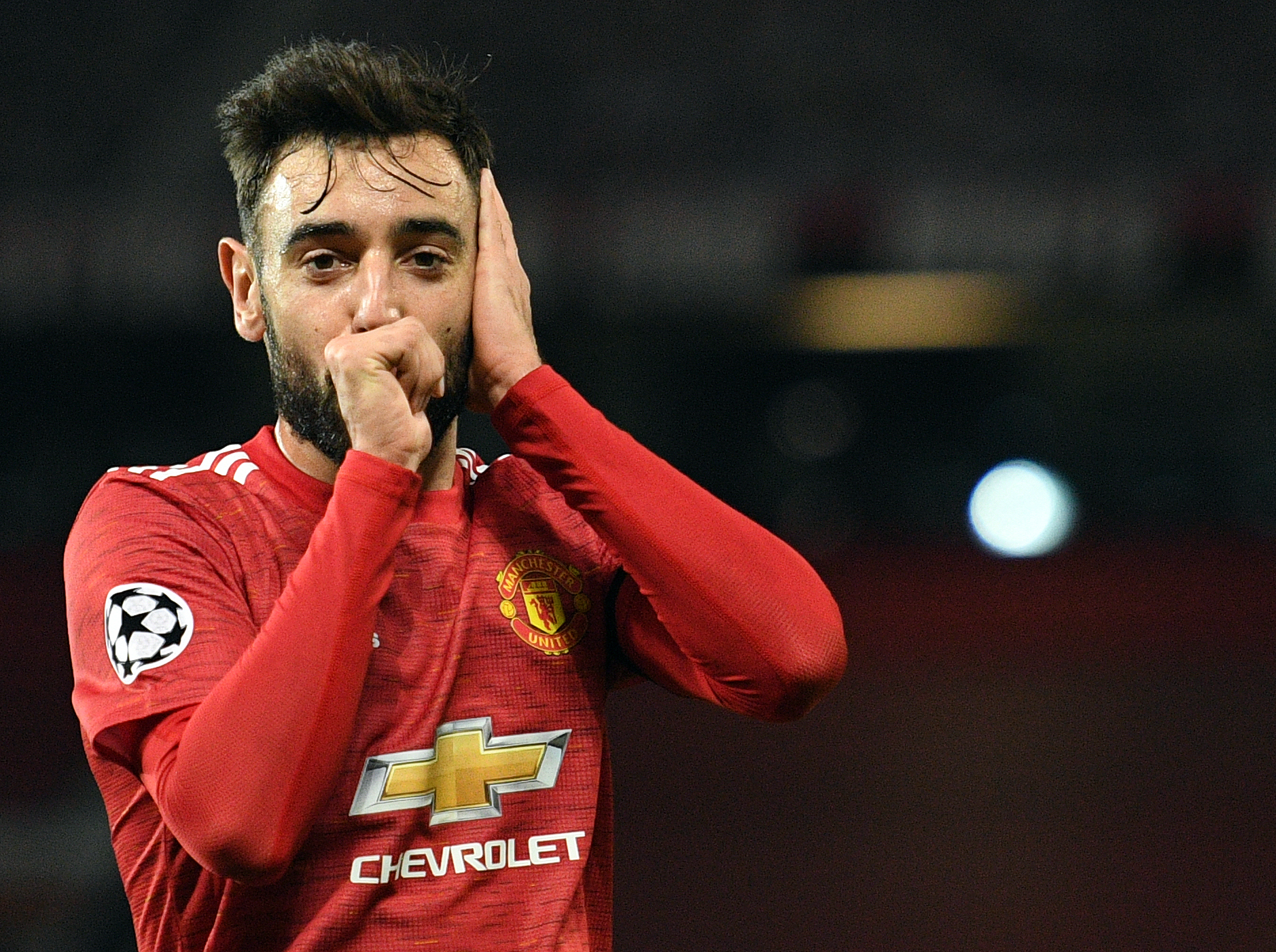 Bruno Fernandes scores stunning goal in Manchester United win but denies himself chance of a hat trick