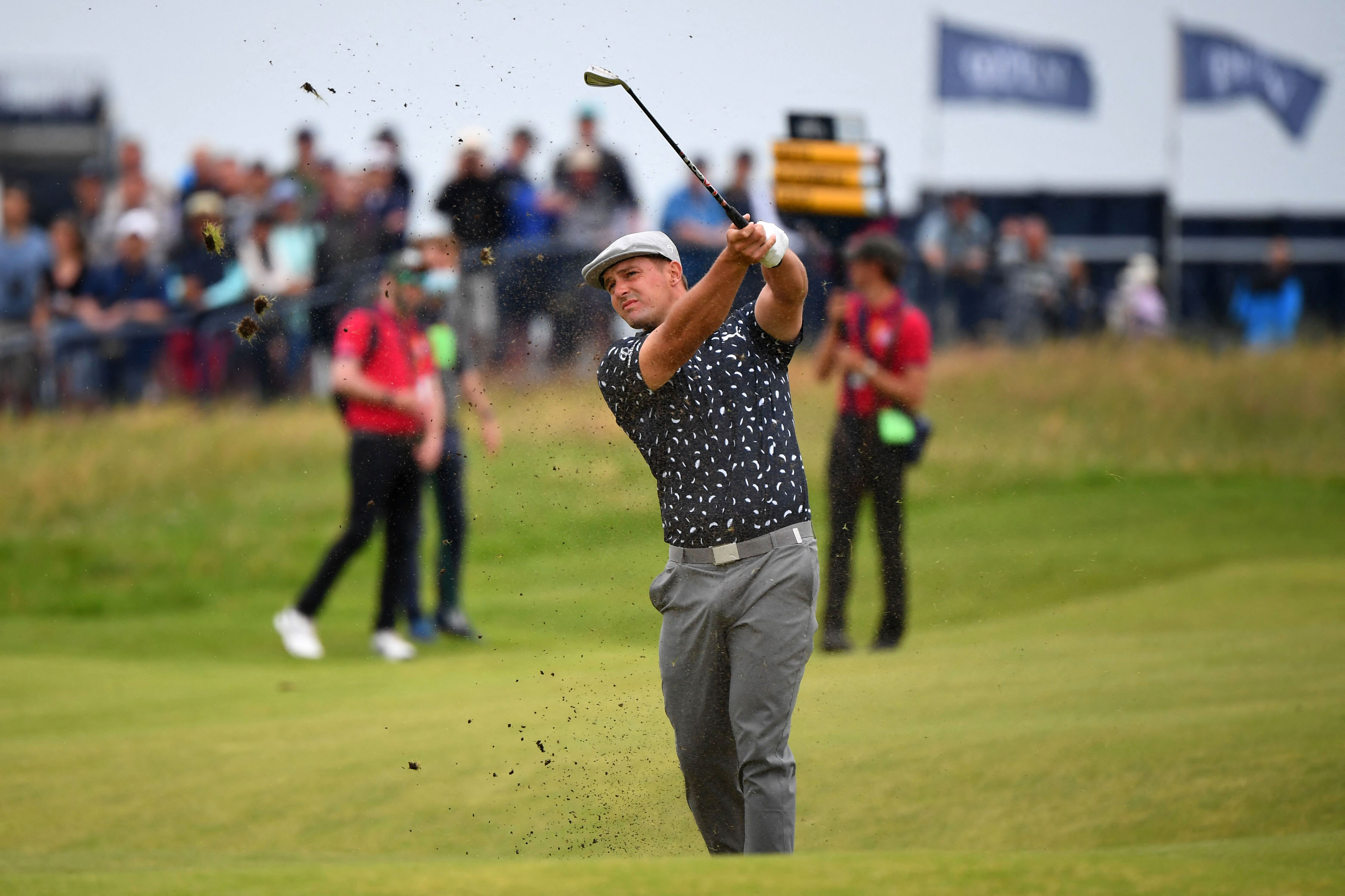 Bryson DeChambeau is 'living on the razor's edge,' but for now his driver 'sucks' at the Open
