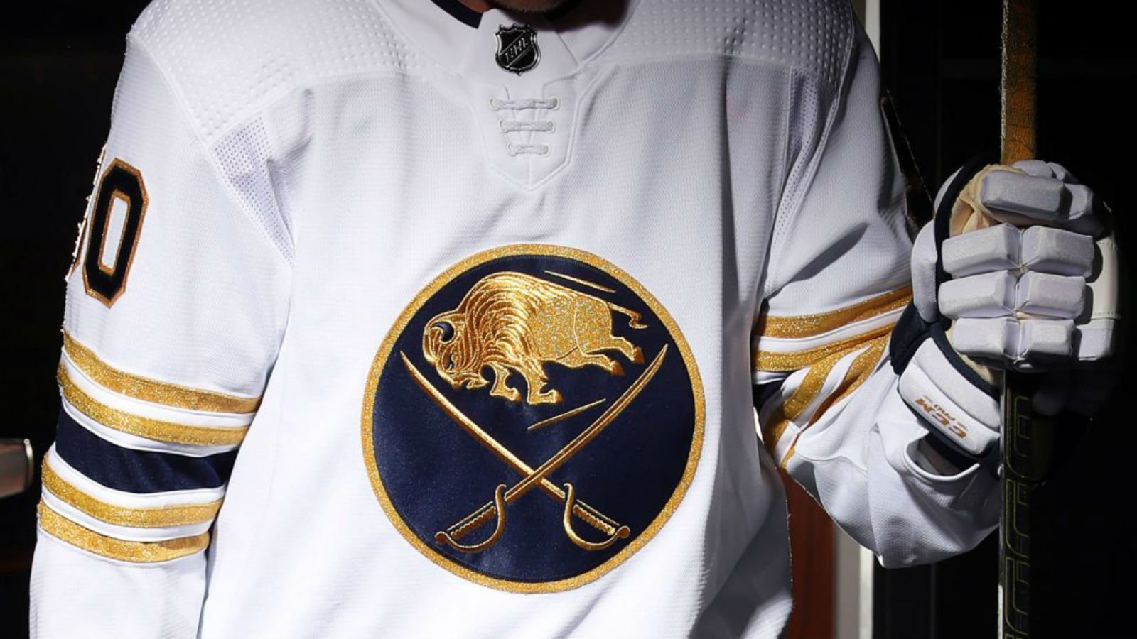 The Buffalo Sabres debut a gold jersey for their special season