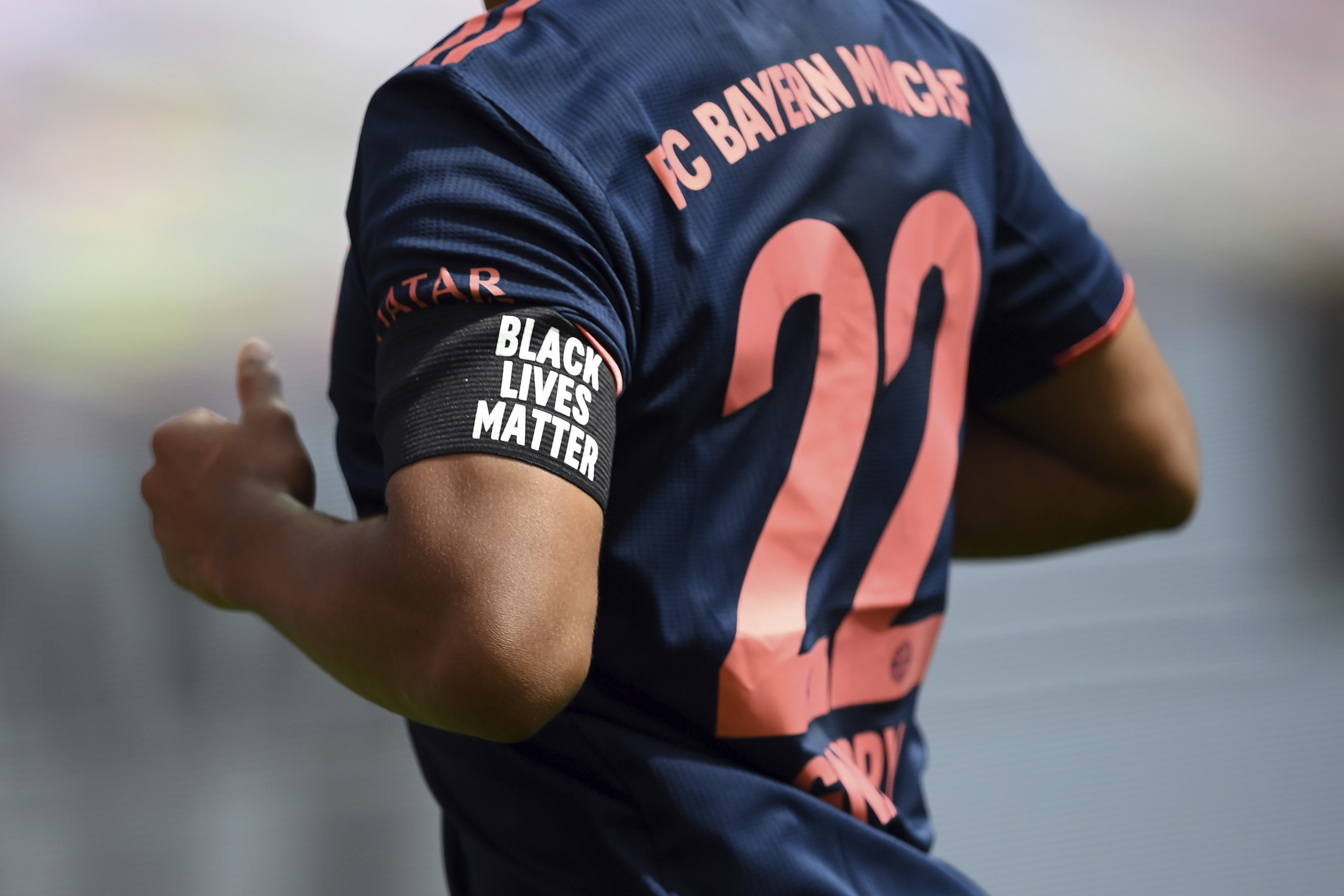 Bayern in solidarity with Black Lives Matter movement as team closes in on Bundesliga title