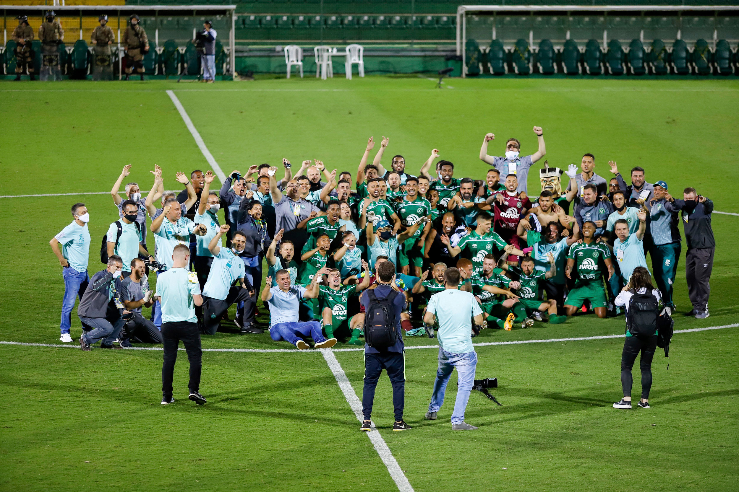 Chapecoense earns promotion back to Brazil's top division
