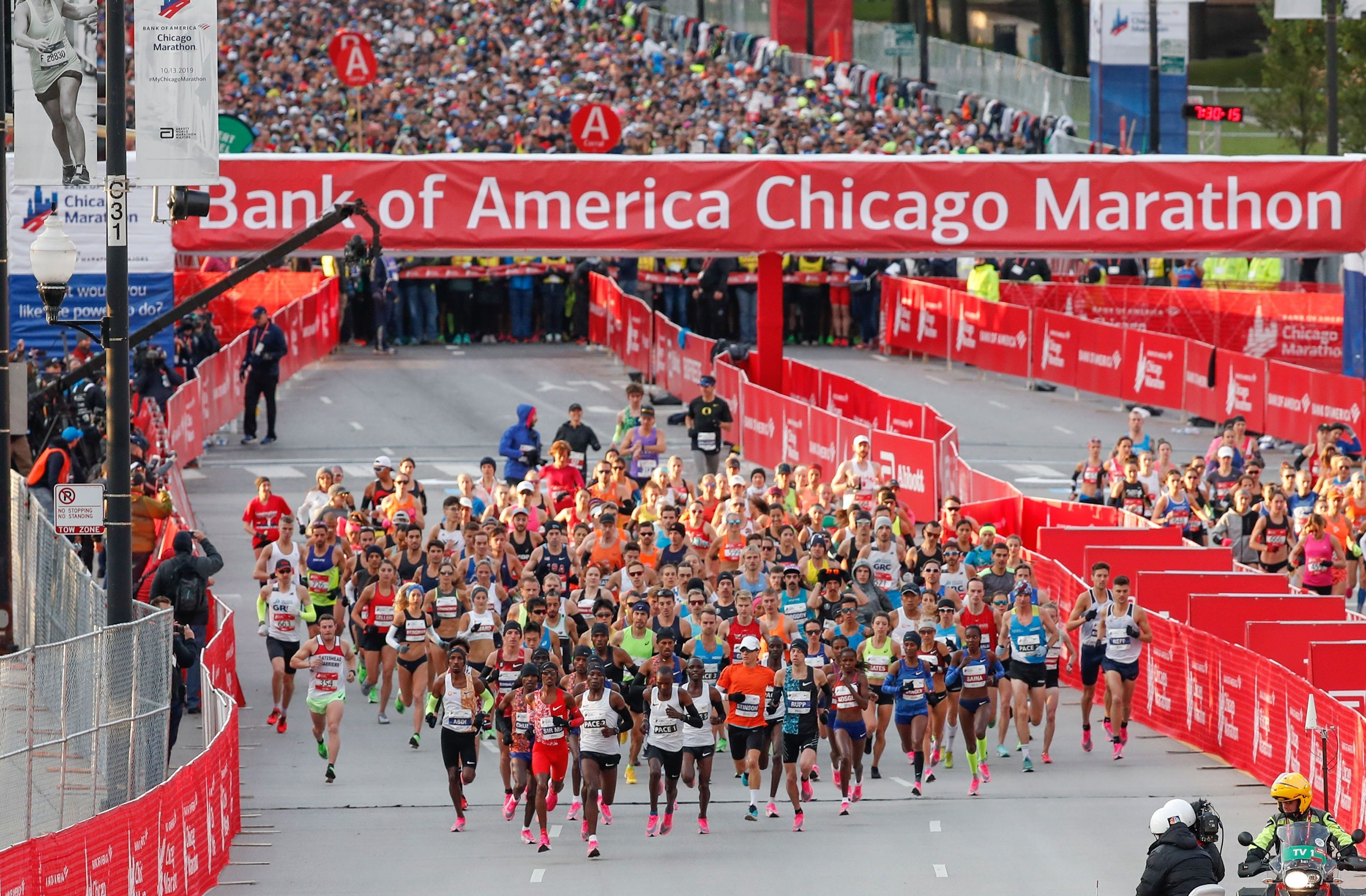 Kenya's Brigid Kosgei destroys women's world record at Chicago Marathon