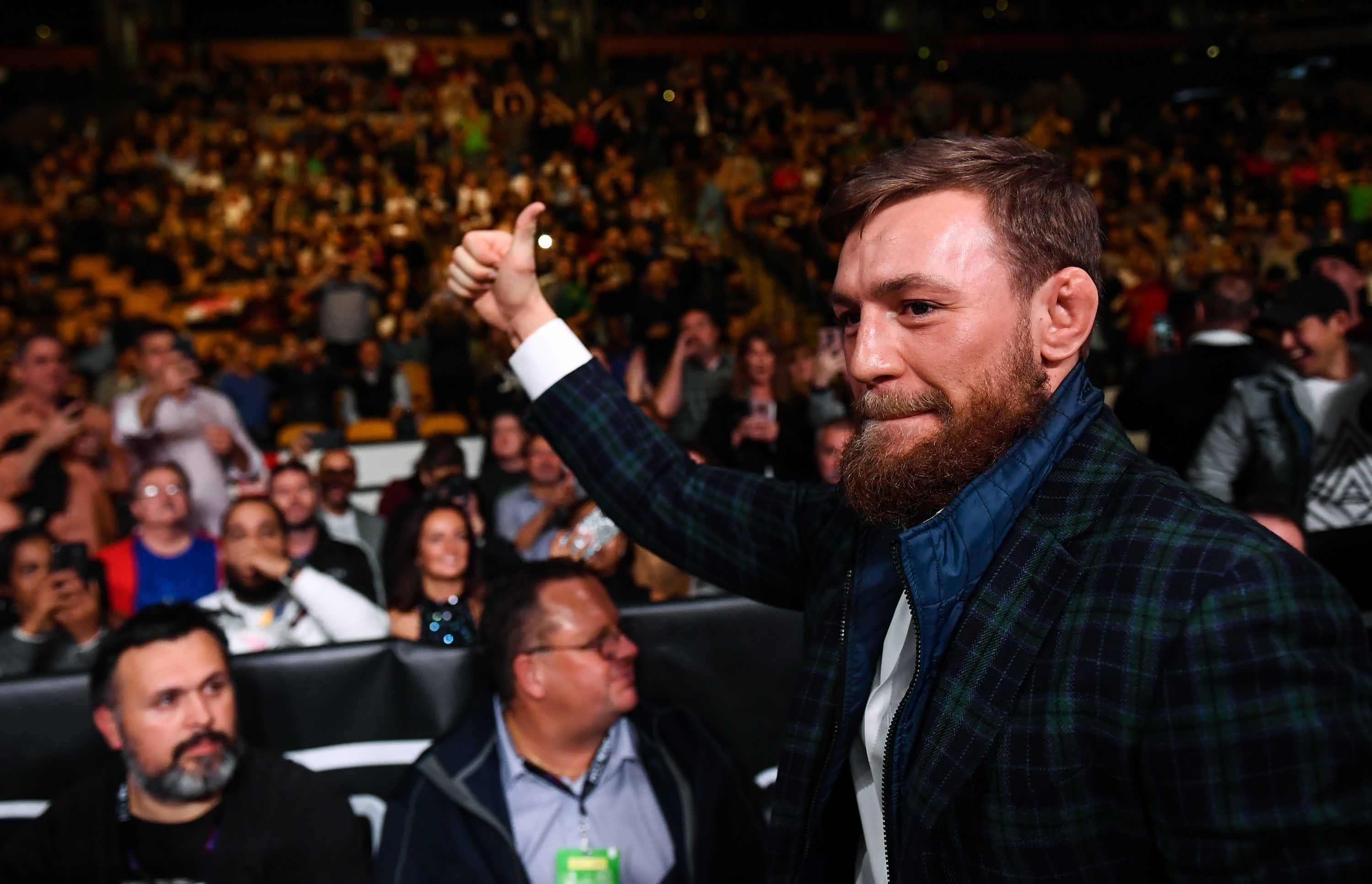 Conor McGregor hints at MMA comeback in Dublin