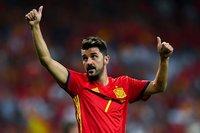 David Villa, Spain's all-time leading goalscorer, announces retirement from football