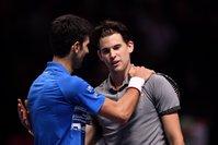 Novak Djokovic loses at ATP Finals to set up showdown with Roger Federer
