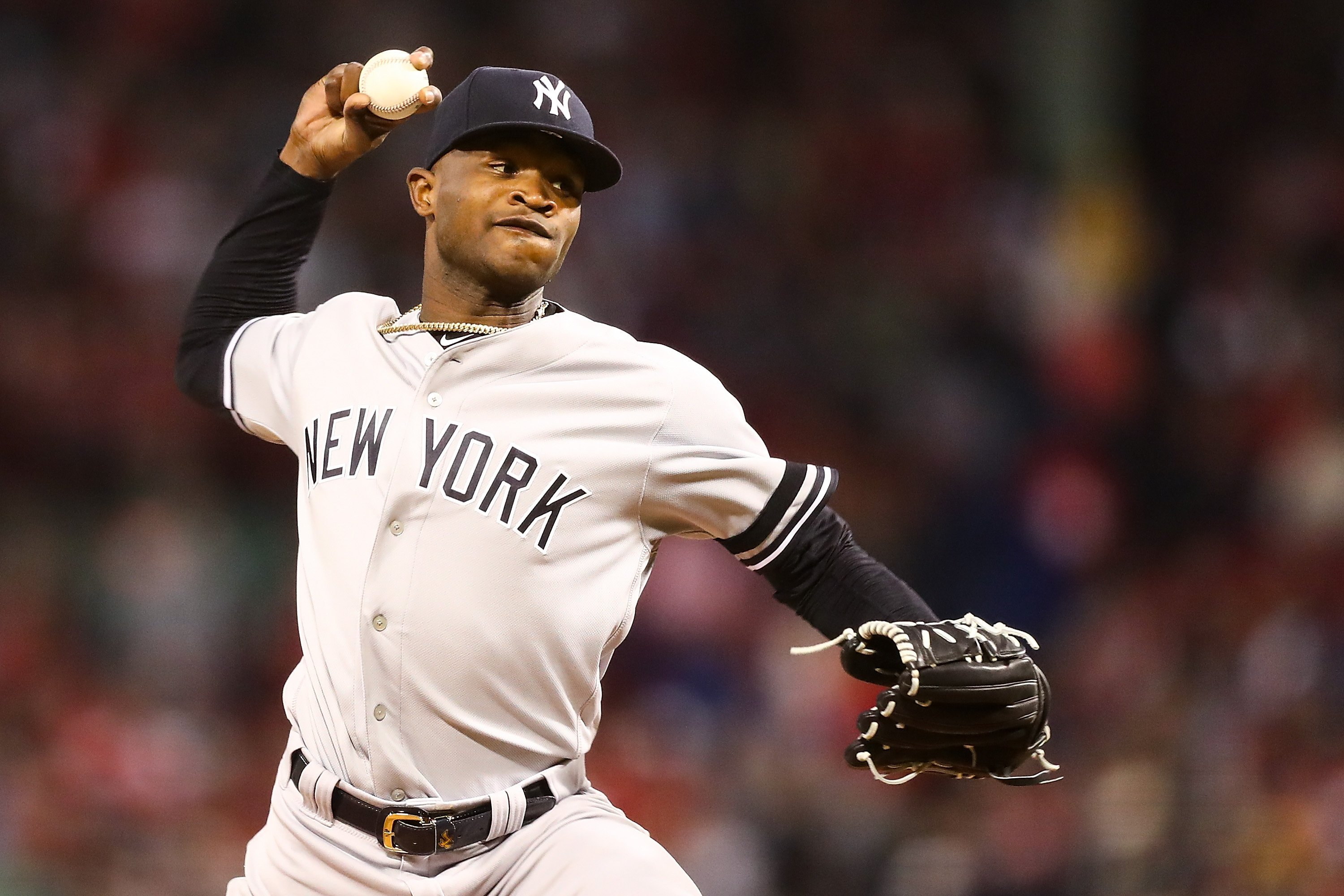 NY Yankees pitcher Domingo Germán placed on administrative leave for alleged domestic violence incident