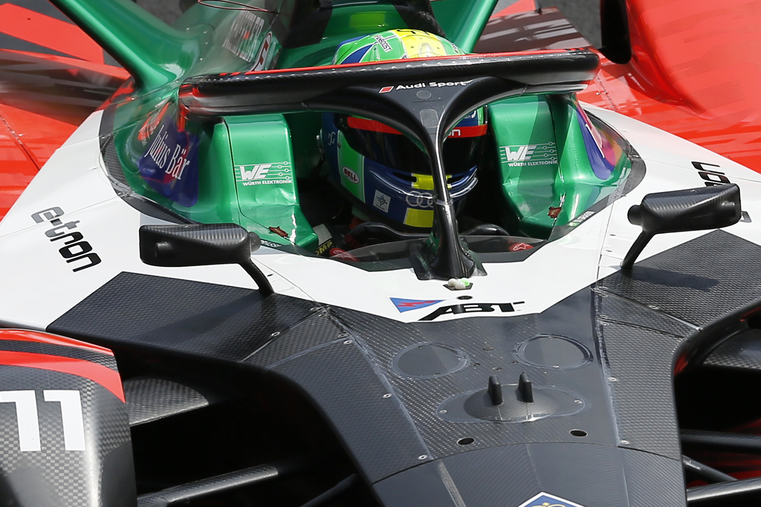 'Movement, vibration, dynamism': The helmet-cam that is revolutionizing Formula E