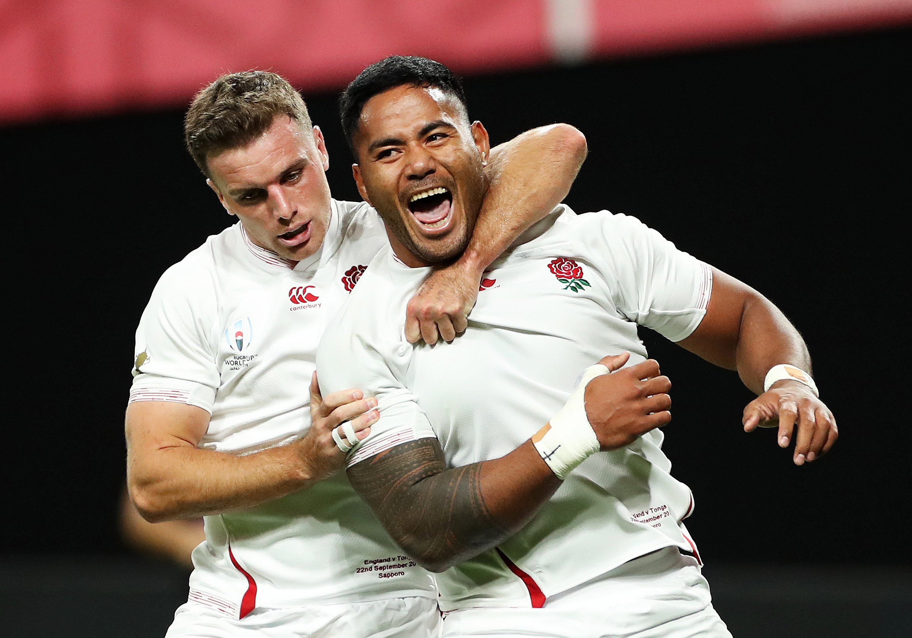 England begins World Cup campaign with battling victory against Tonga