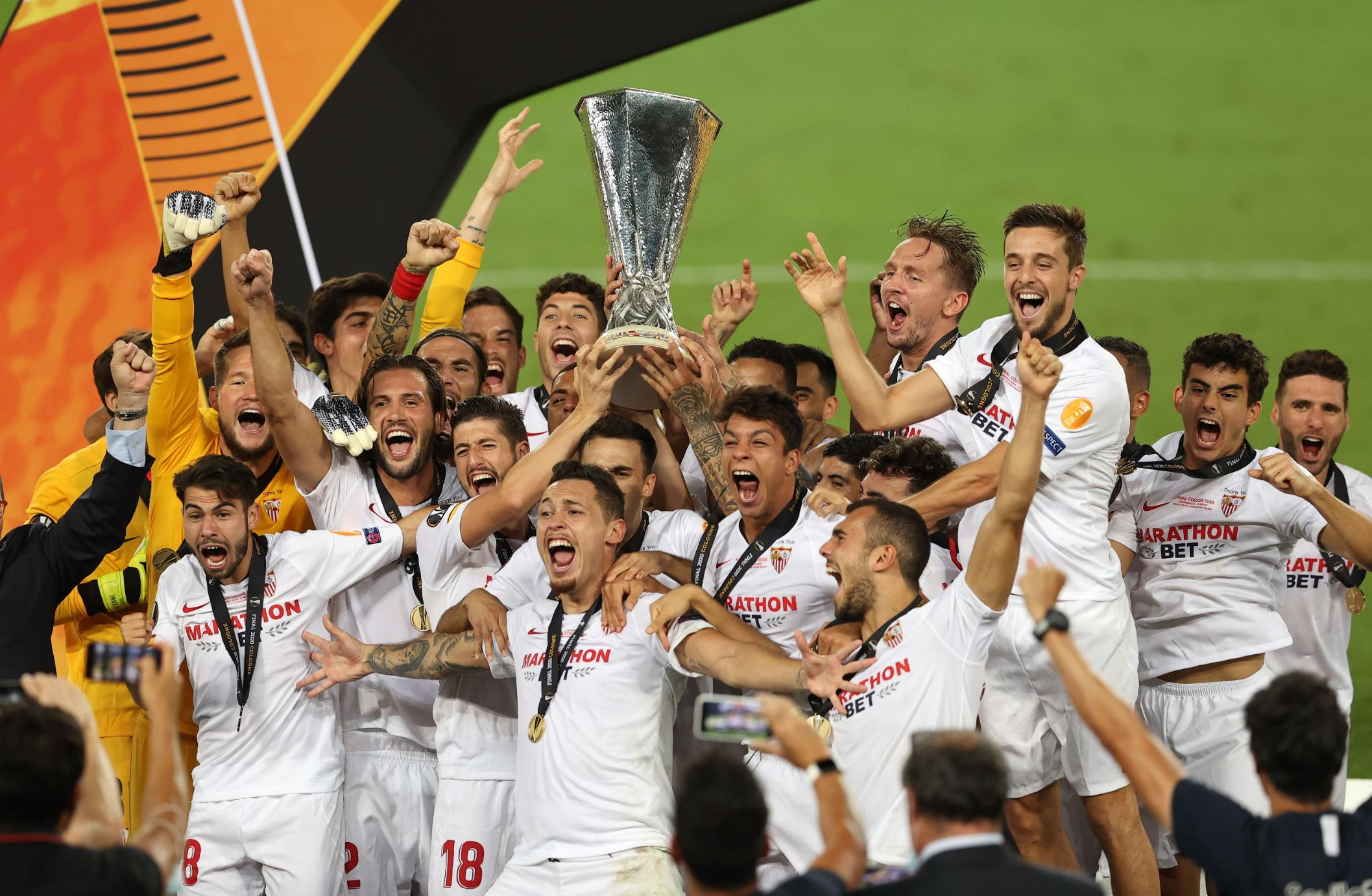 Sevilla continues Europa League love affair with final victory over Inter Milan