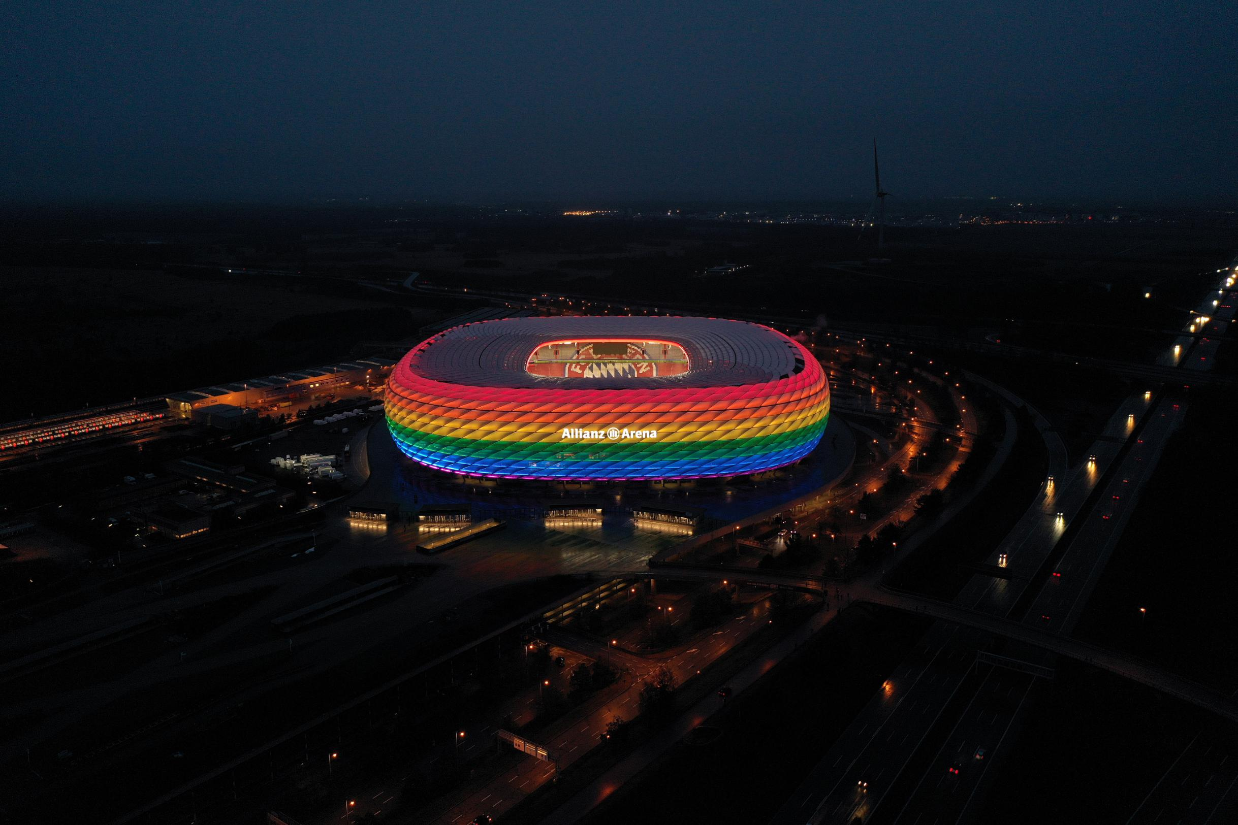 Germany vs. Hungary: UEFA facing criticism over its position on rainbow colors