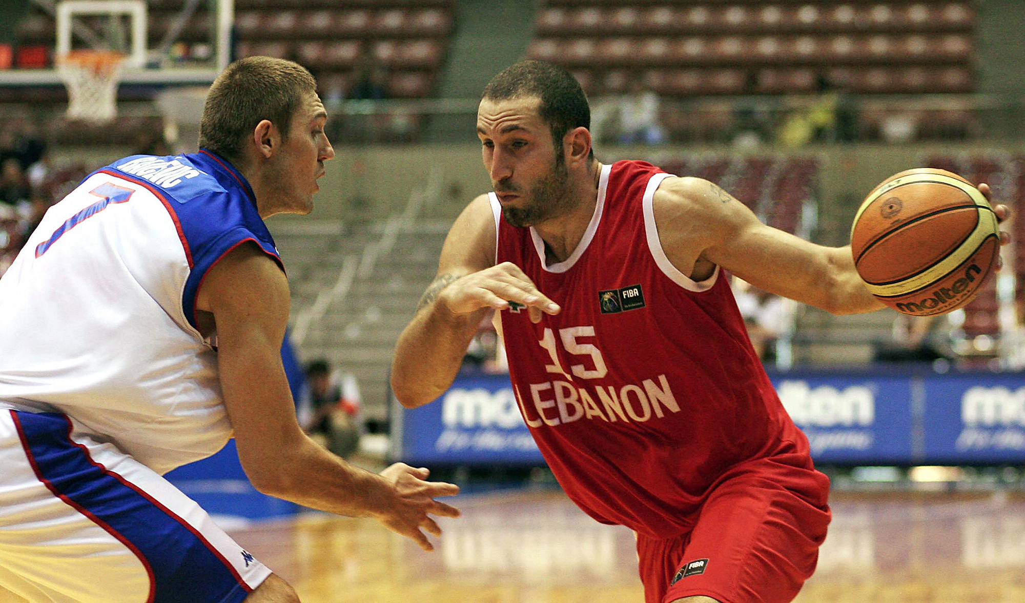 A city 'ruined in 30 seconds': Lebanese basketball great Fadi El Khatib weeps for Beirut