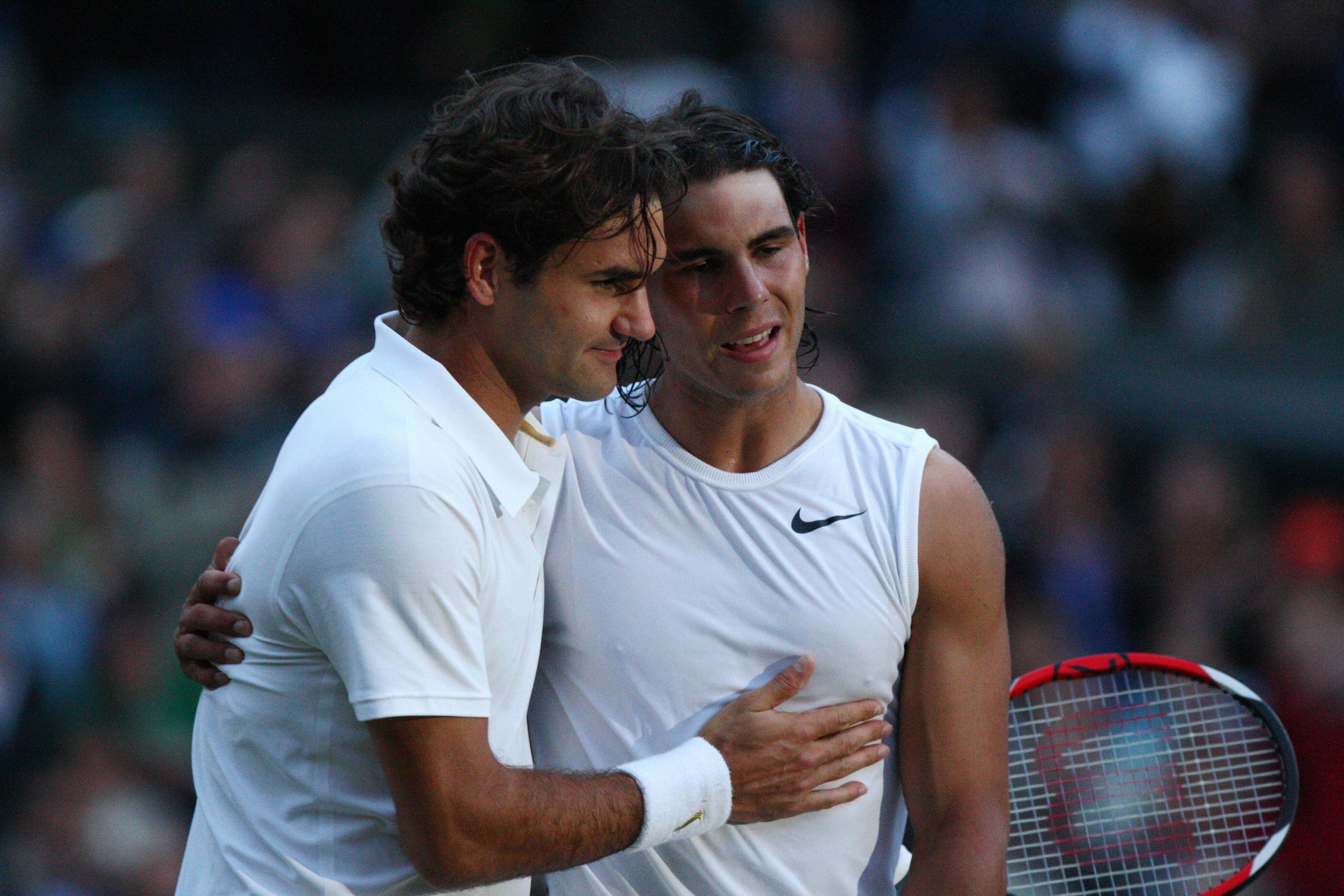 Roger Federer and Rafael Nadal meet in historic Wimbledon rematch