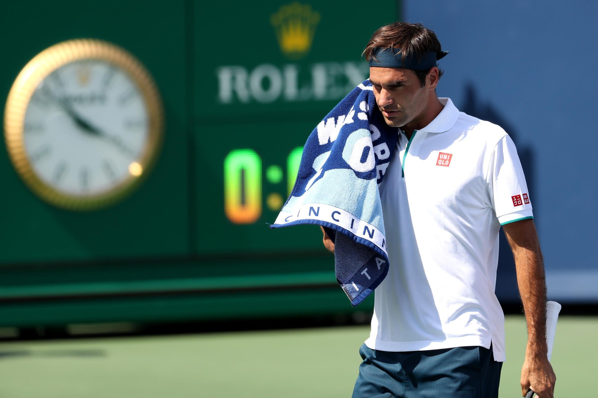 Roger Federer suffers his fastest defeat in 16 years at the Cincinnati Masters