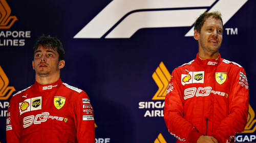 Image for Four-time world champion Sebastian Vettel will leave Ferrari at the end of the season