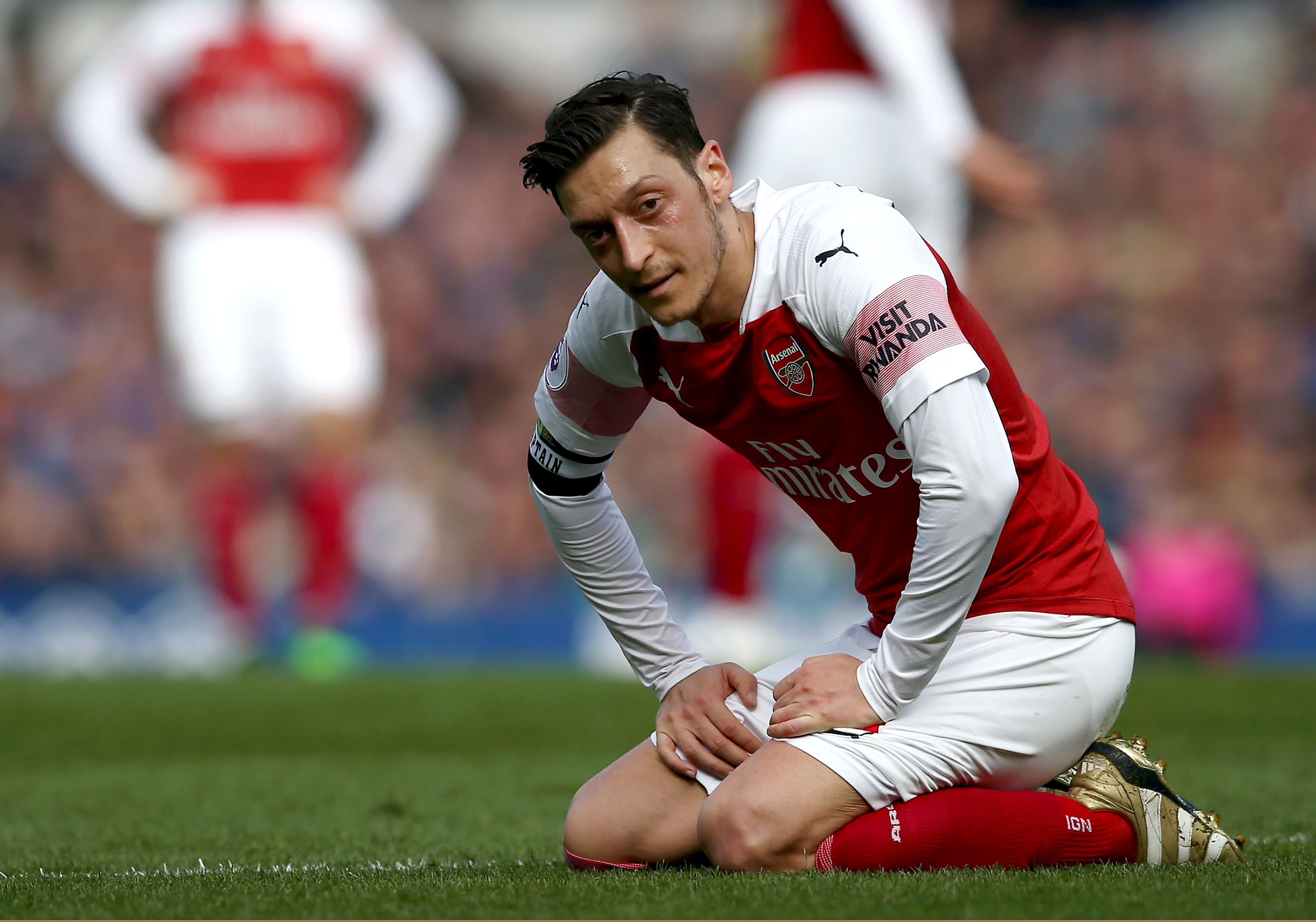 Chinese state media pulls TV coverage of Arsenal game after Mesut Ozil shows Uyghur support