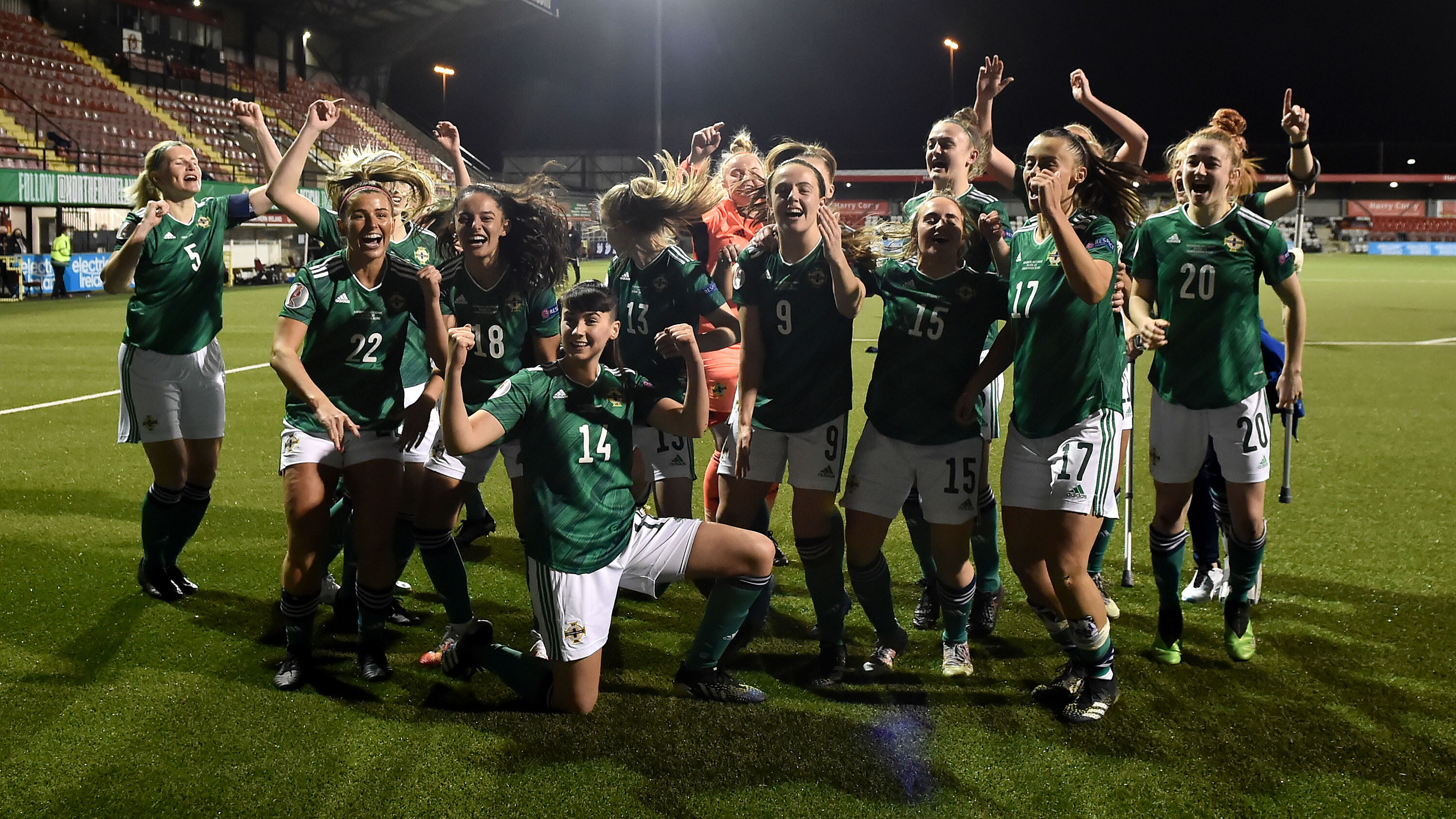 'Imagine how good it could be': Northern Ireland women's footballers ready to seize their moment