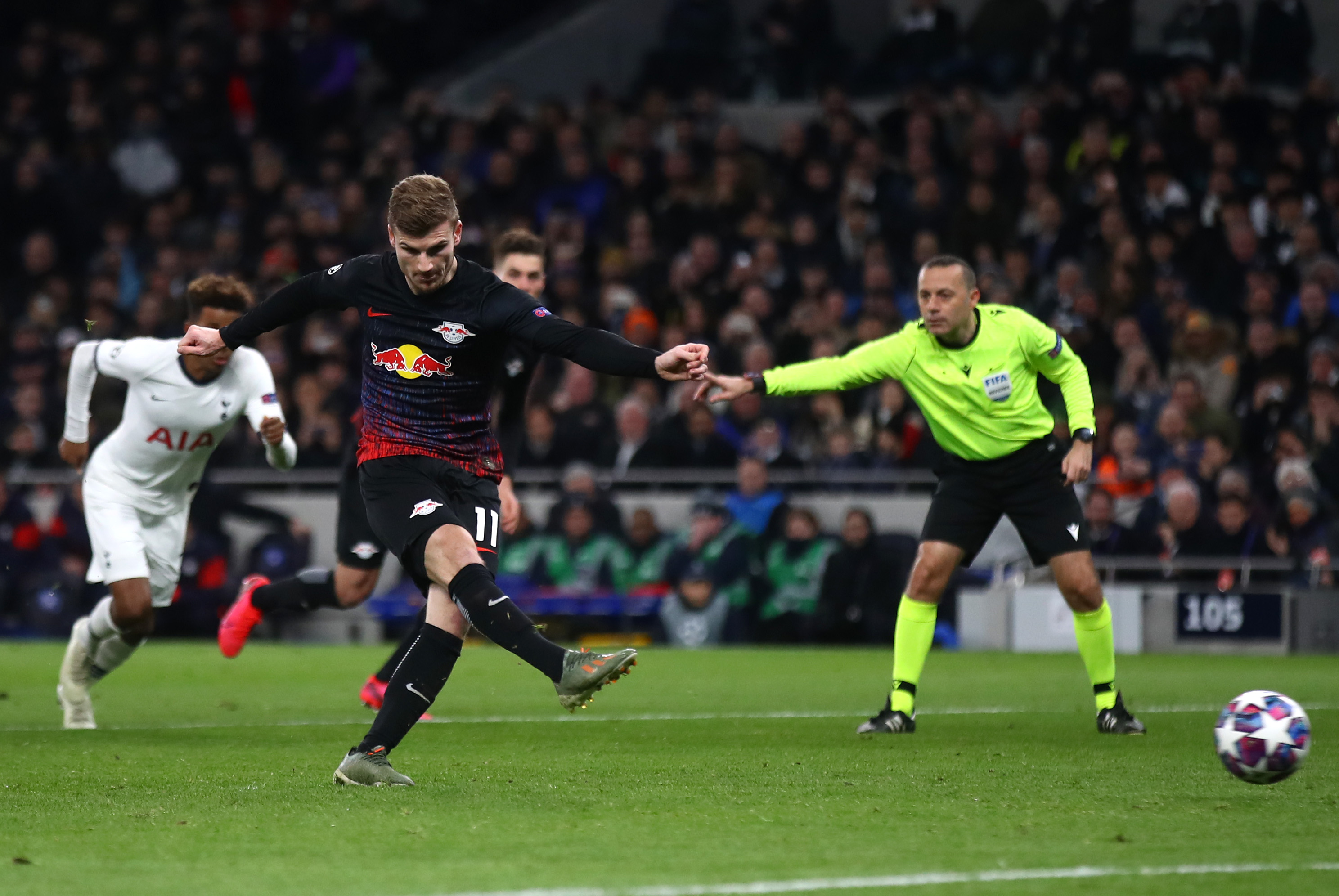 RB Leipzig overpowers Tottenham Hotspur in Champions League
