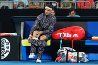 Grigor Dimitrov turns heads with bold tracksuit choice at the Australian Open