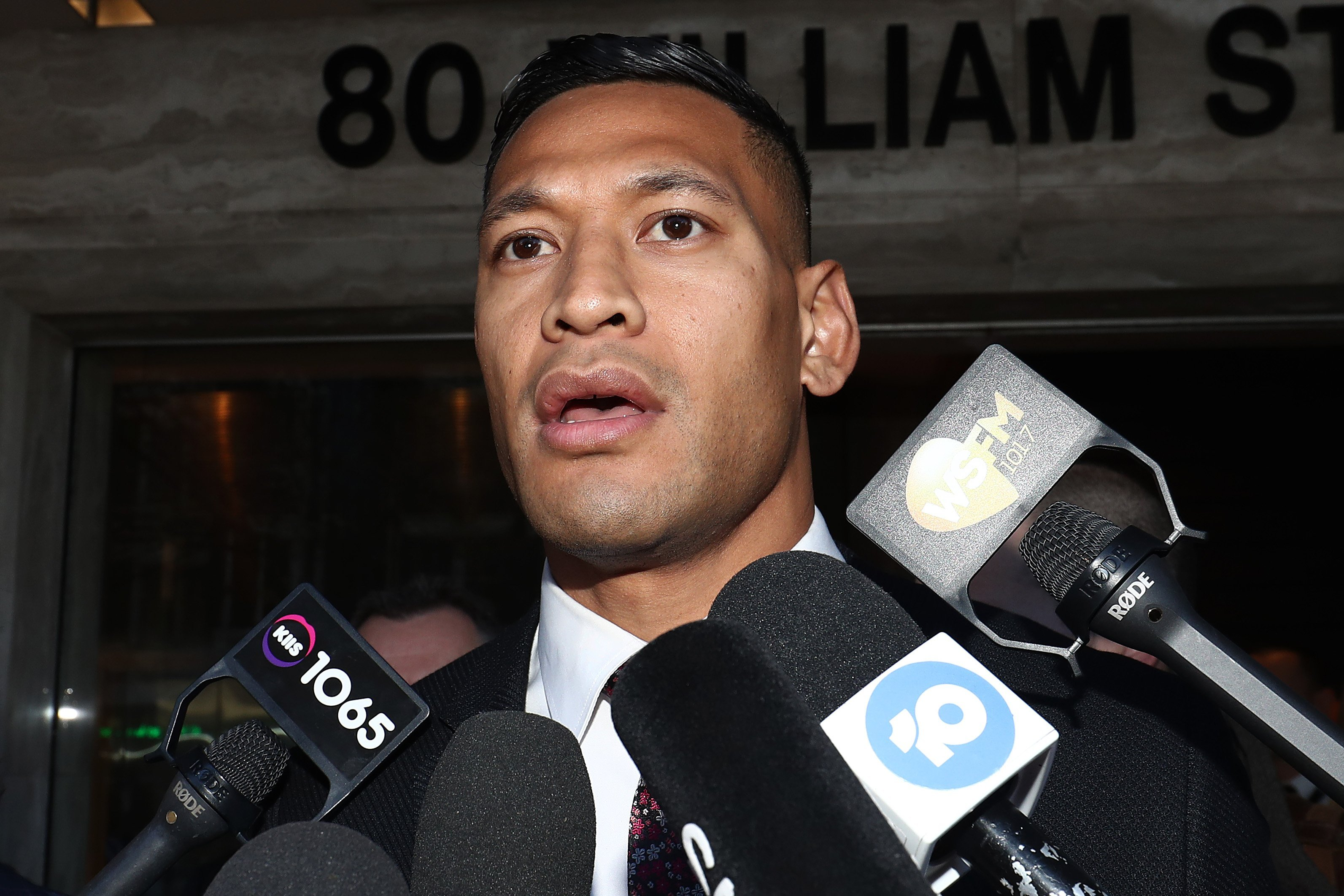 Israel Folau links Australia's bushfires and drought to the country's same-sex and abortion laws