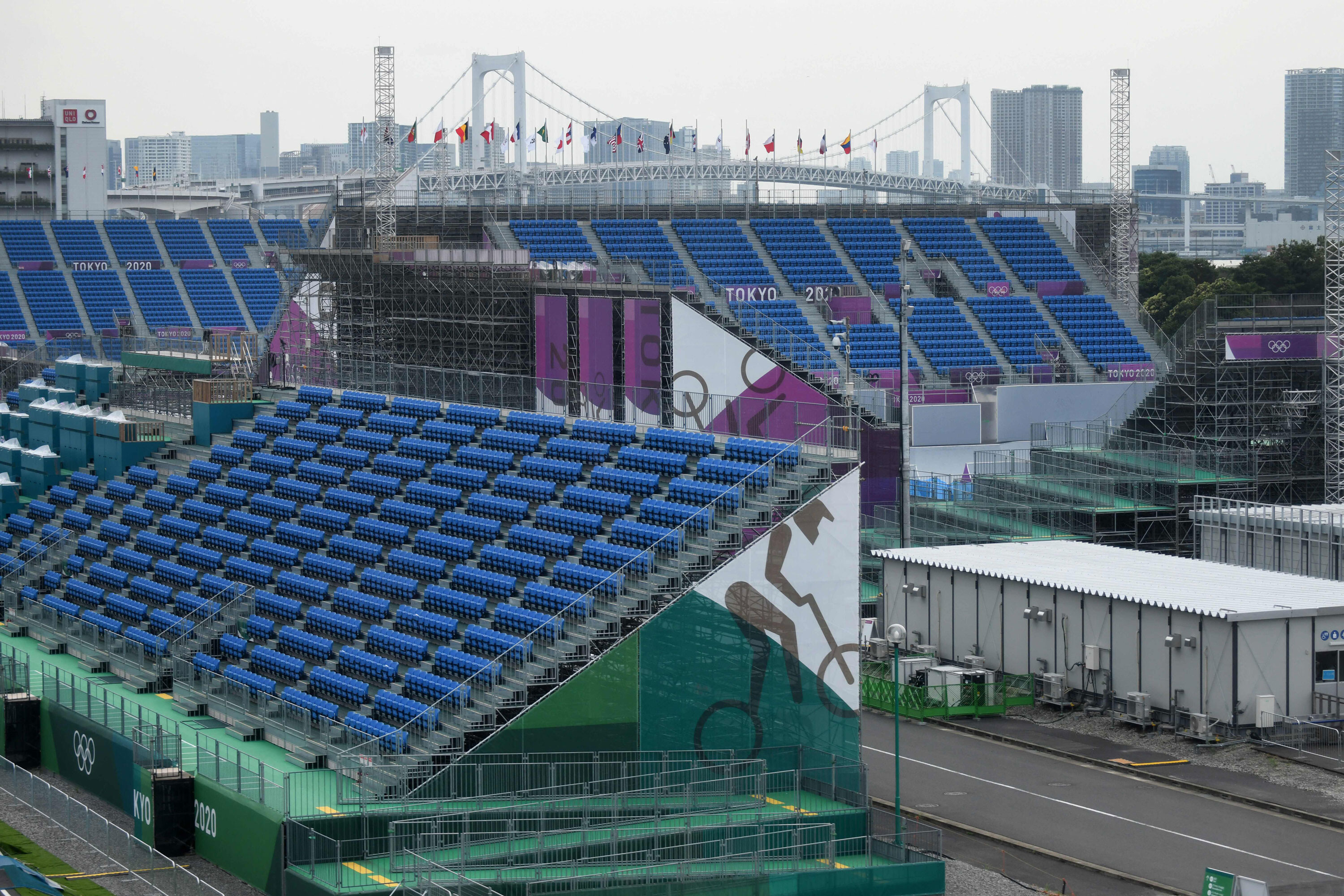 Tokyo venues for Olympics will have no spectators; Games will be held under a state of emergency