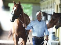 Bob Baffert pushes back on report that Justify should have been ineligible for Kentucky Derby