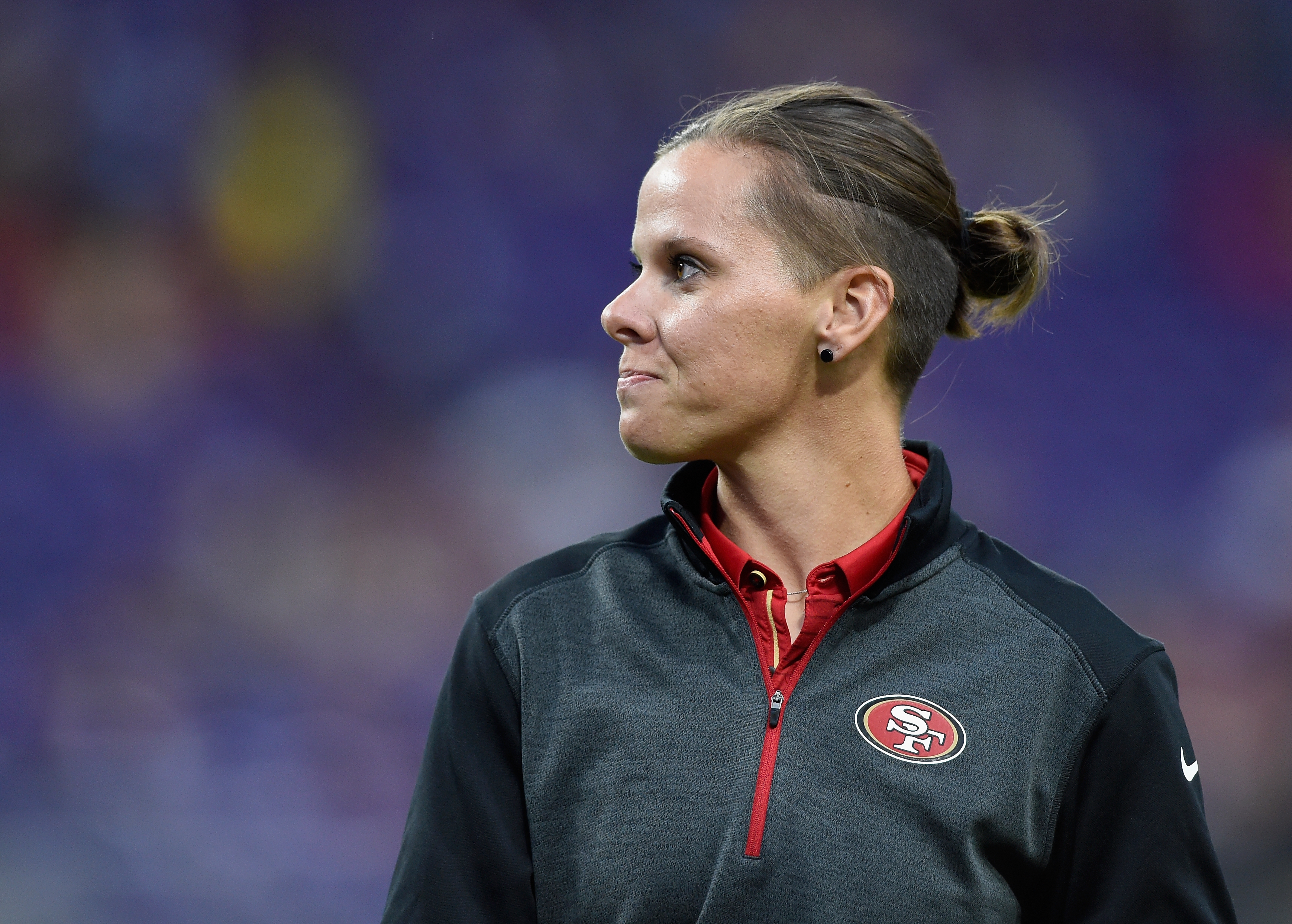 49ers' Katie Sowers is the first woman and openly gay coach in Super Bowl history