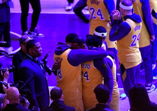 Image for 'I still have trouble with it': One year on, Lakers stars struggle to come to terms with Kobe Bryant's death