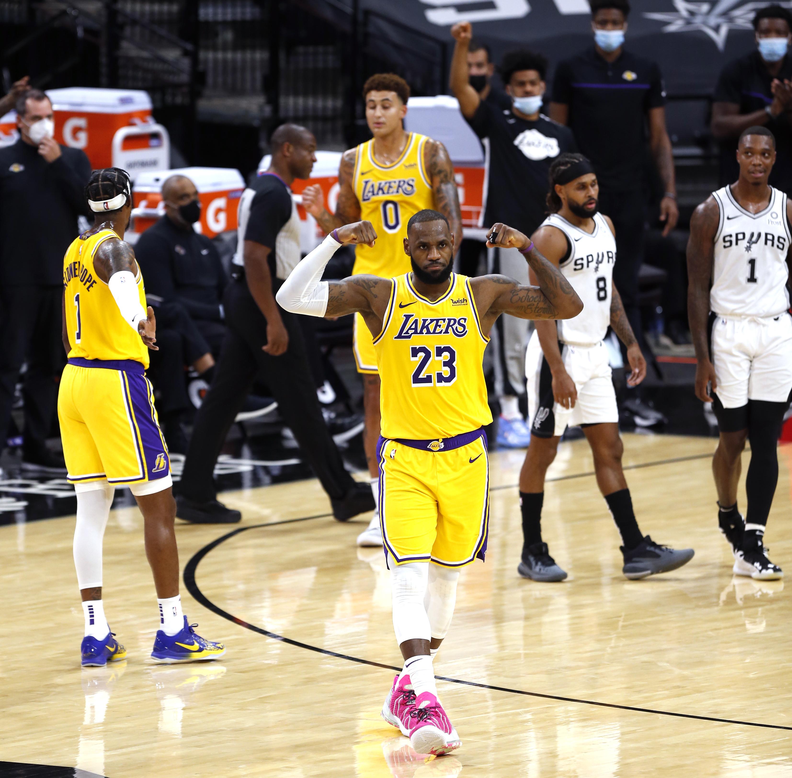 LeBron James celebrates scoring milestone on 36th birthday